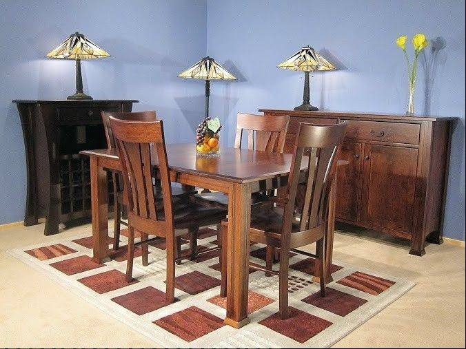 Amish Furniture Showrooms Are Like Catalogs Where Shoppers Can See Furniture  Sets And Pieces That Are
