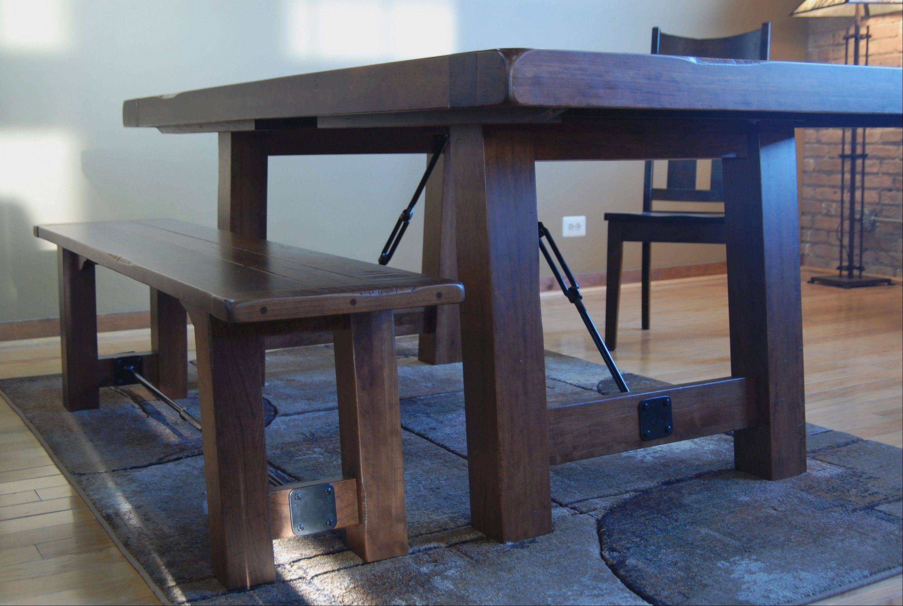 All of Amish Furnitures pieces are custom made, primarily in Ohio.