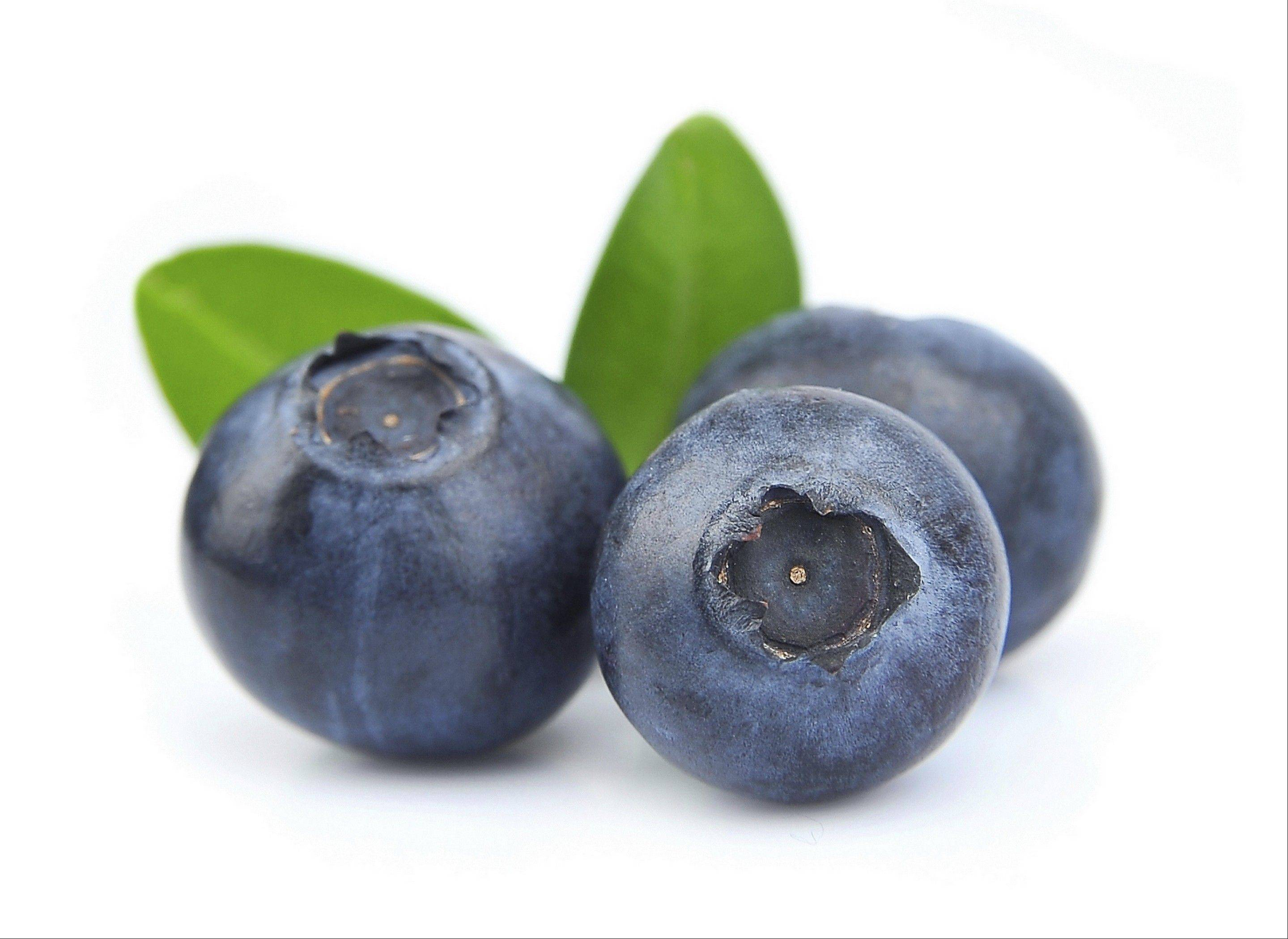 Blueberries, yogurt and salmon are all key to having healthy skin.