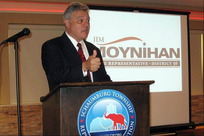 Schaumburg resident Jim Moynihan has announced he will seek the Republican nomination for the 56th District state House seat currently held by Democrat Michelle Mussman.