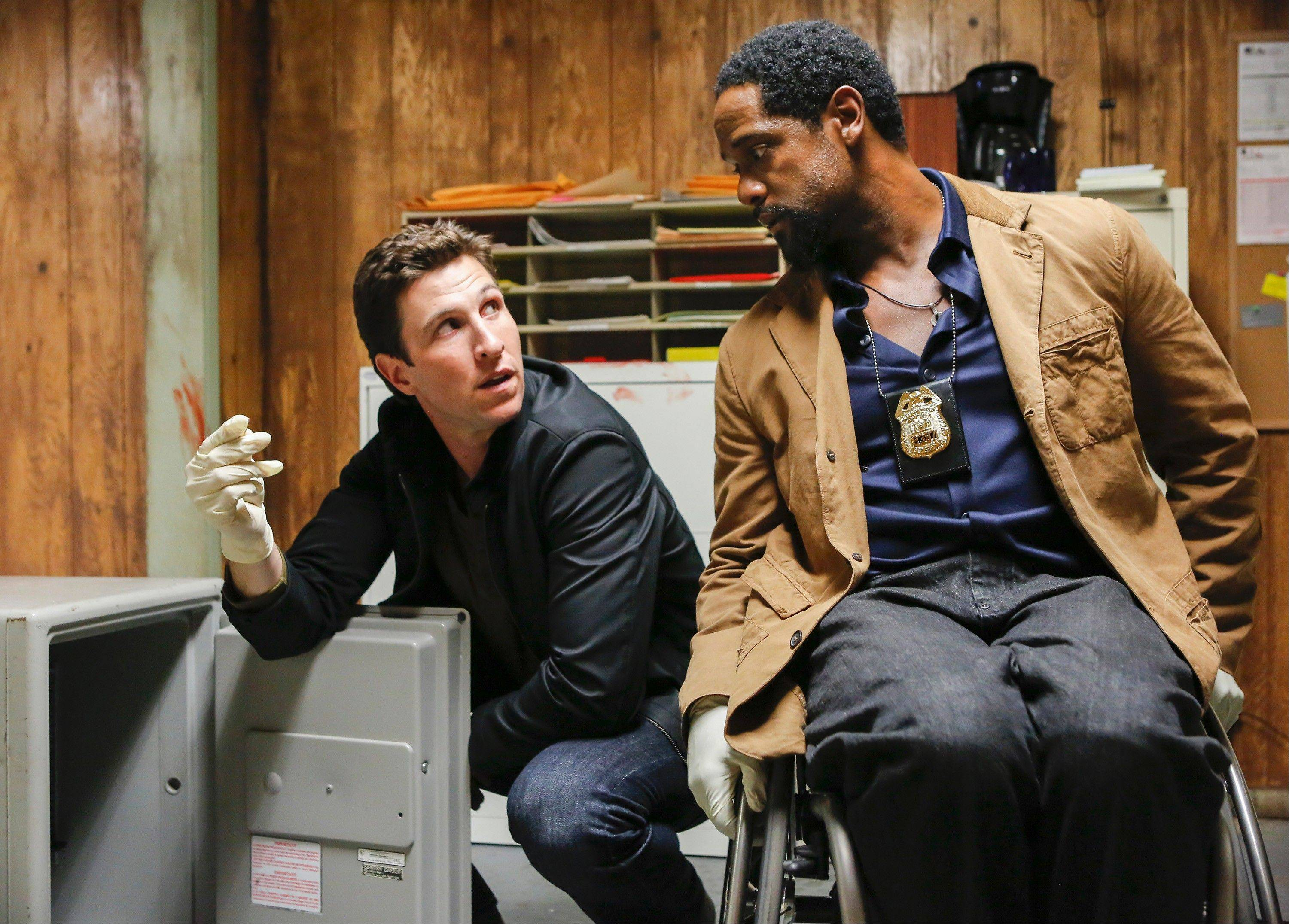 "Blair Underwood, right, updates the show ""Ironside"" on NBC. Pablo Schreiber co-stars."