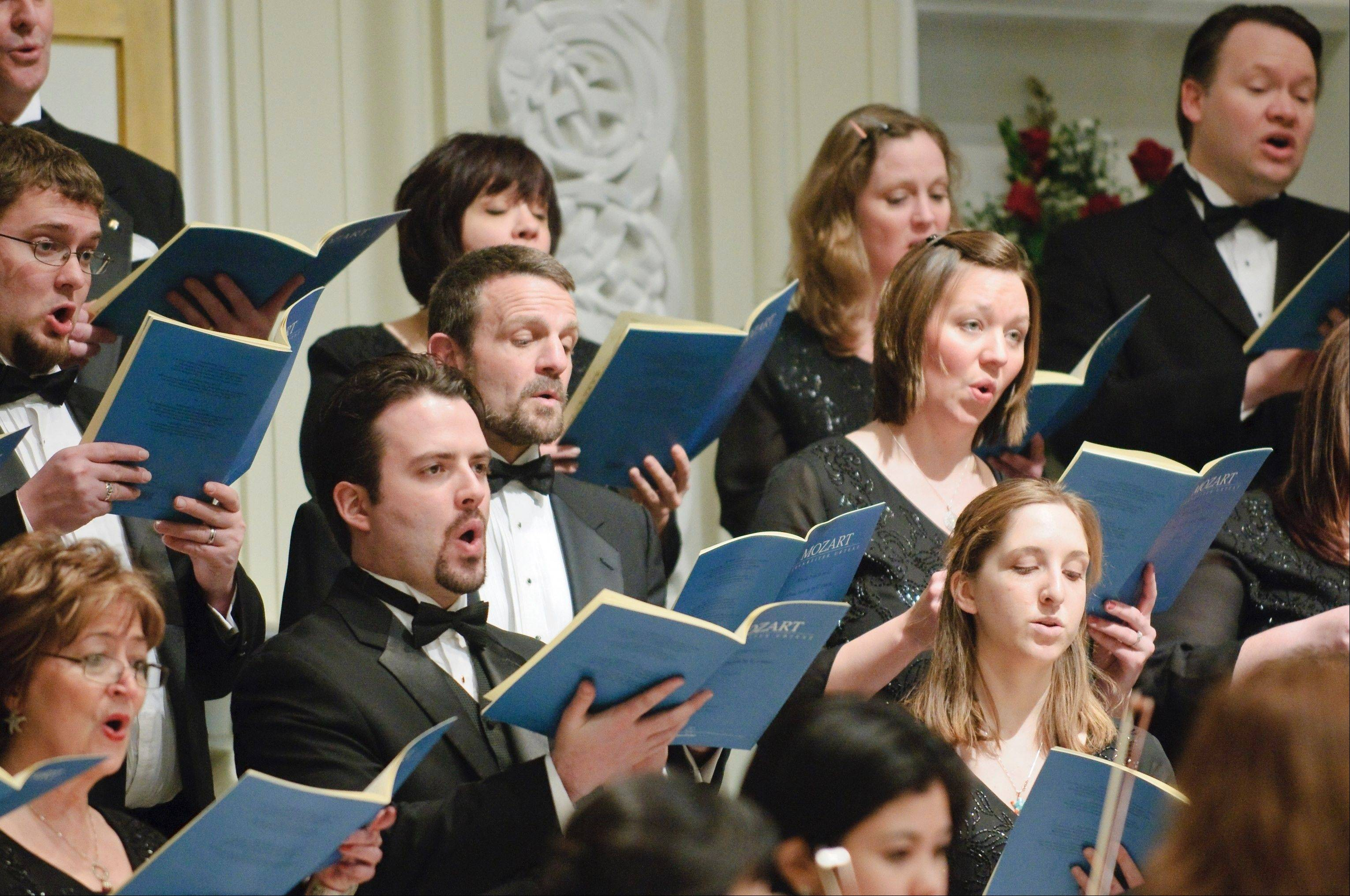 "The St. Charles Singers will launch its 30th season this weekend with a concert titled ""Luminescence."" Performances are set for Saturday, Oct. 5 in St. Charles and Sunday, Oct. 6 in Wheaton."