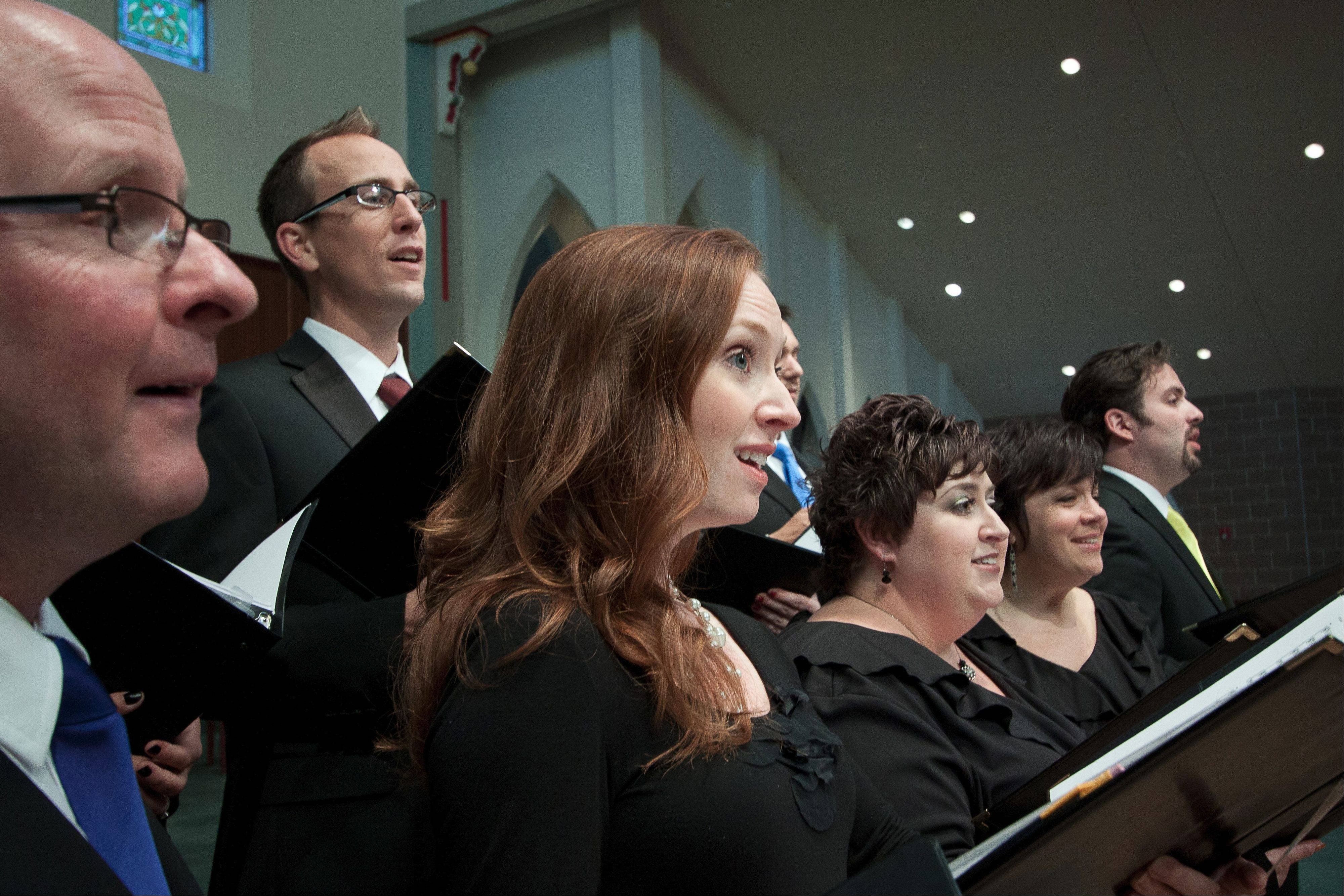 Members of the St. Charles Singers audition for their positions and are compensated for rehearsals and concerts.