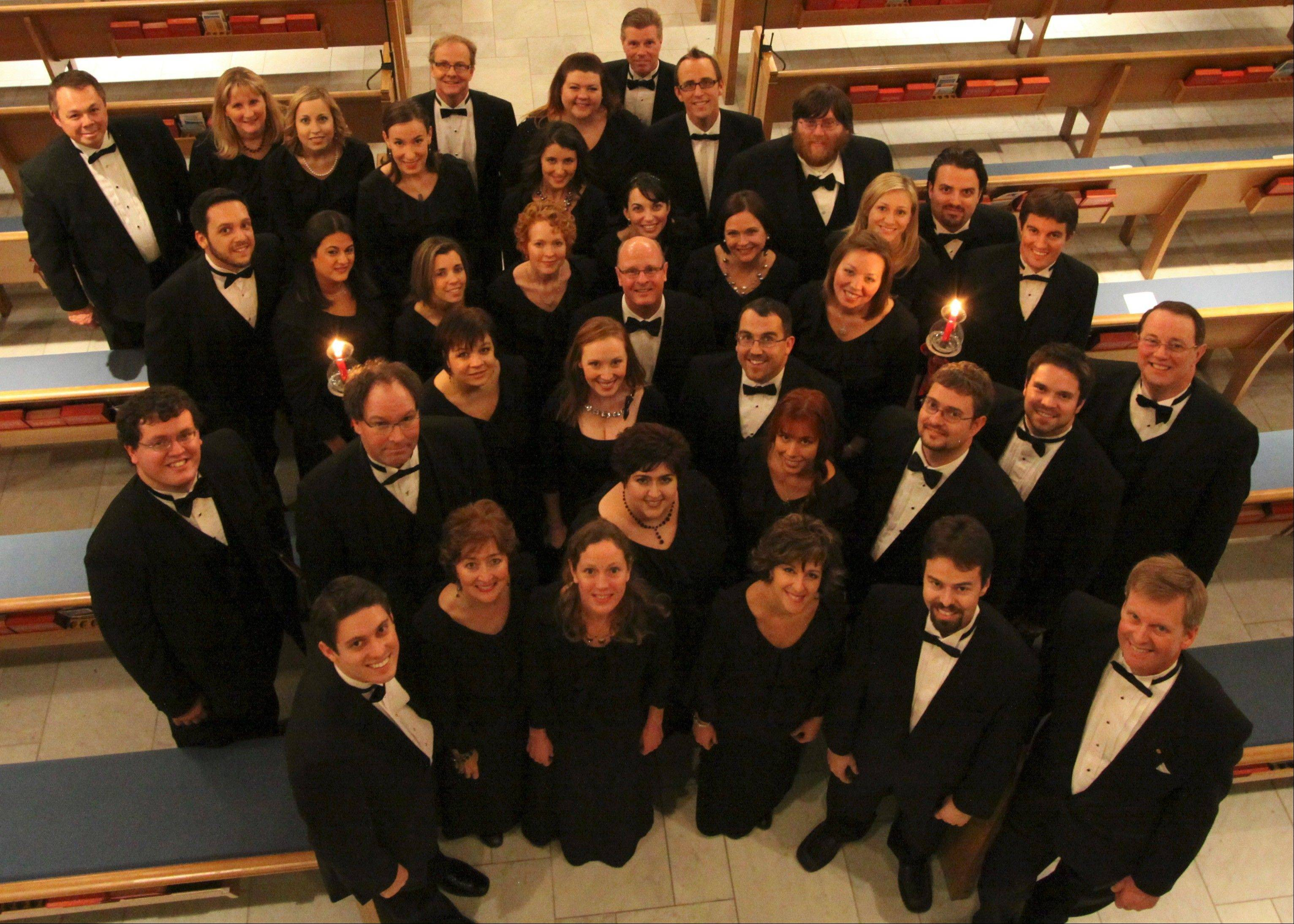 "The St. Charles Singers is made up of 45 singers, 35 of whom are scheduled to sing in ""Luminescence."""