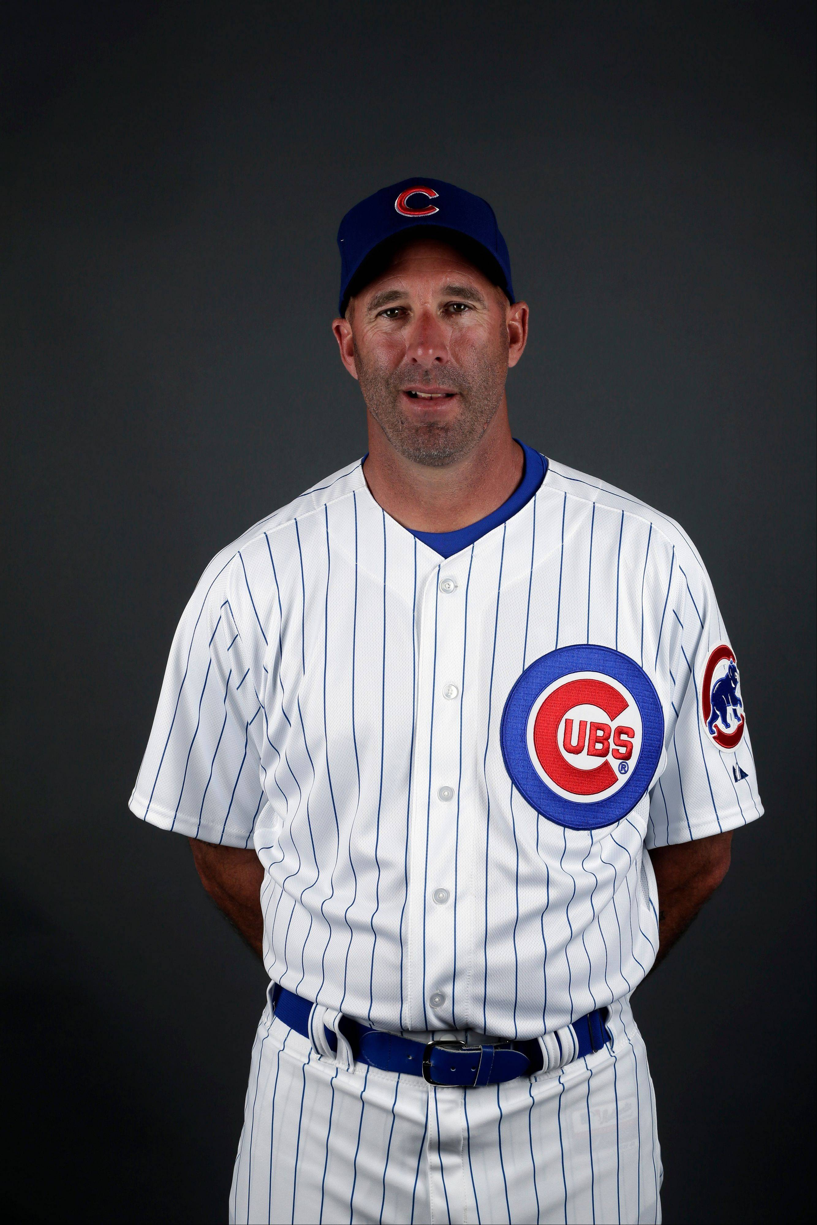 This is a 2013 photo of Dale Sveum of the Chicago Cubs baseball team. This image reflects the Cubs active roster as of Monday, Feb. 18, 2013.