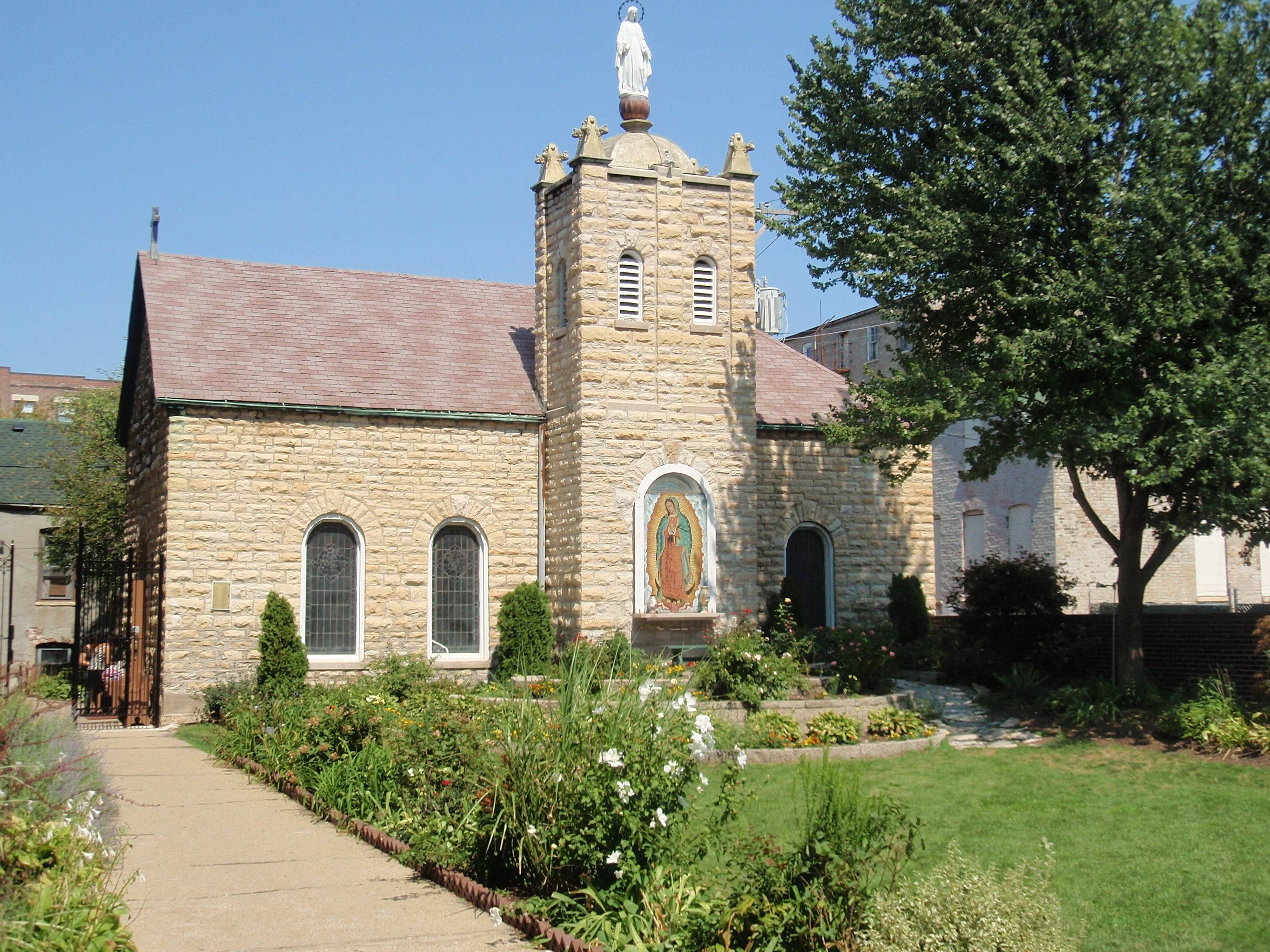 The Chapel adjacent to St. Procopius Catholic Church at 1641 S Allport St, Chicago will be one stop during the Chicago Ethnic Neighborhood tour.