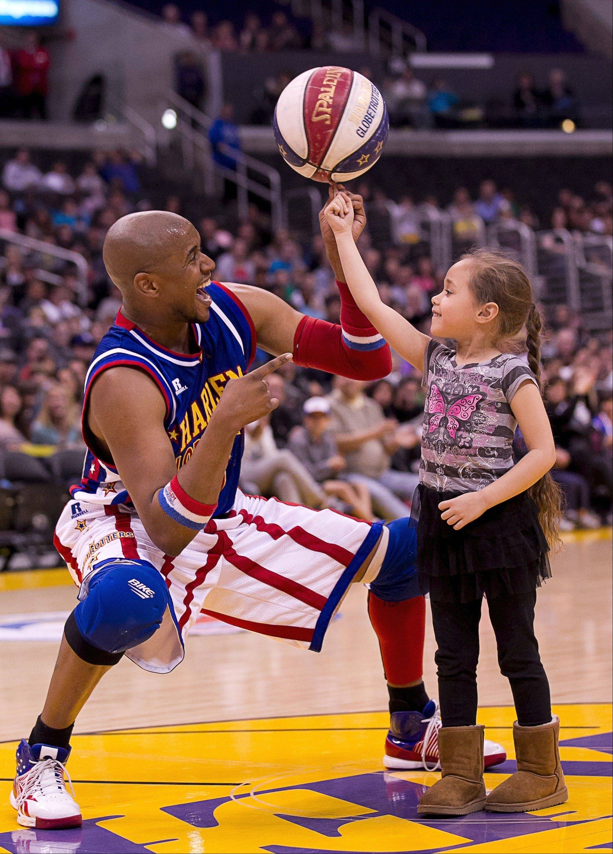 The Harlem Globetrotters exhibition basketball team heads to the Allstate Arena in Rosemont for two shows on Friday, Dec. 27. Tickets go on sale to the public on Monday, Oct. 7.