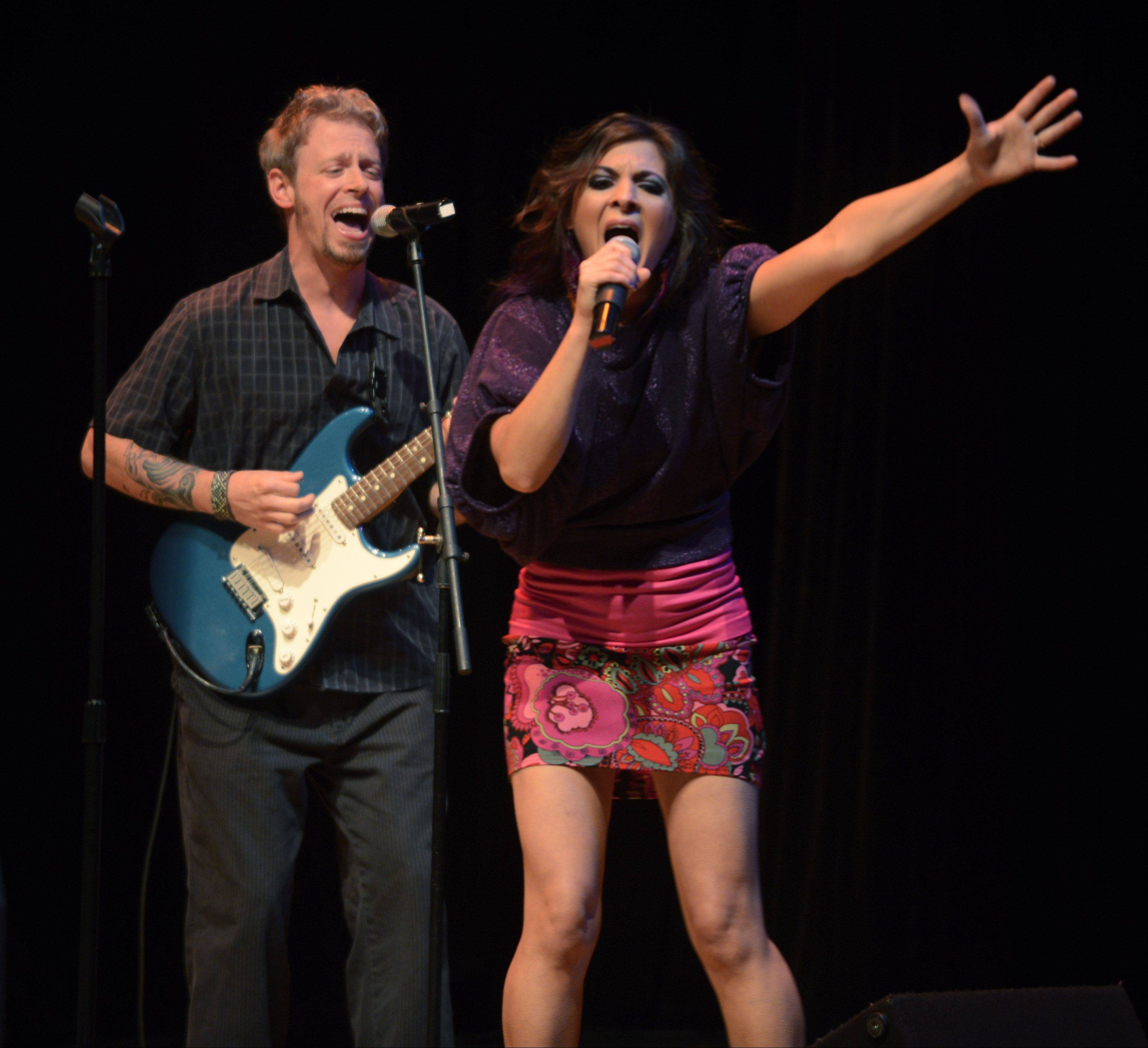 Sean and Karen, one of the Top 10 finalists from the 2013 edition of Suburban Chicago's Got Talent, perform with a band on Saturday, Oct. 5, at Duke's Alehouse in Crystal Lake.