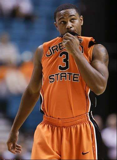 Ahmad Starks had hoped to play for Illinois this season, but the NCAA ruled he must sit out a year after transferring from Oregon State.