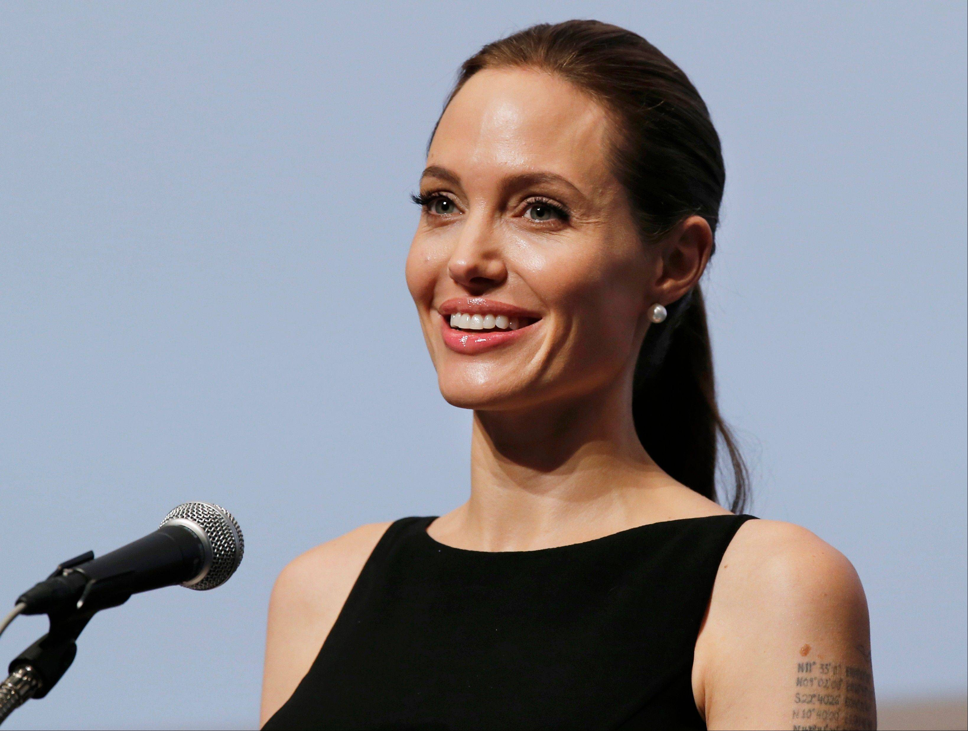 "Angelina Jolie is in Sydney, Australia, to direct the film ""Unbroken,"" the true survival story of Lou Zamperini, a World War II hero and track star who ran in the 1936 Berlin games."