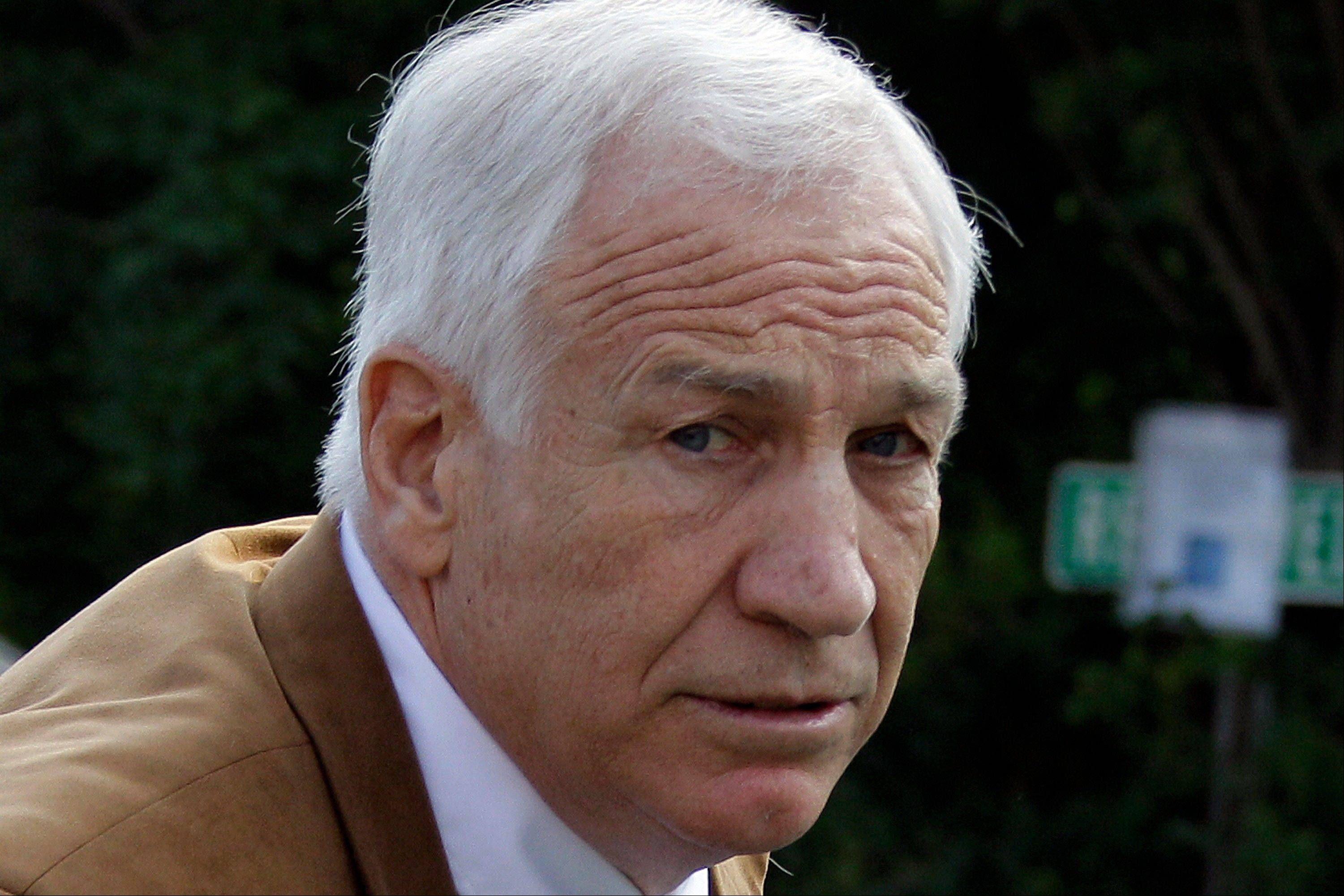 Former Penn State assistant football coach Jerry Sandusky should not get a new trial after being convicted of sexually abusing 10 boys, a Pennsylvania appeals court ruled Wednesday.