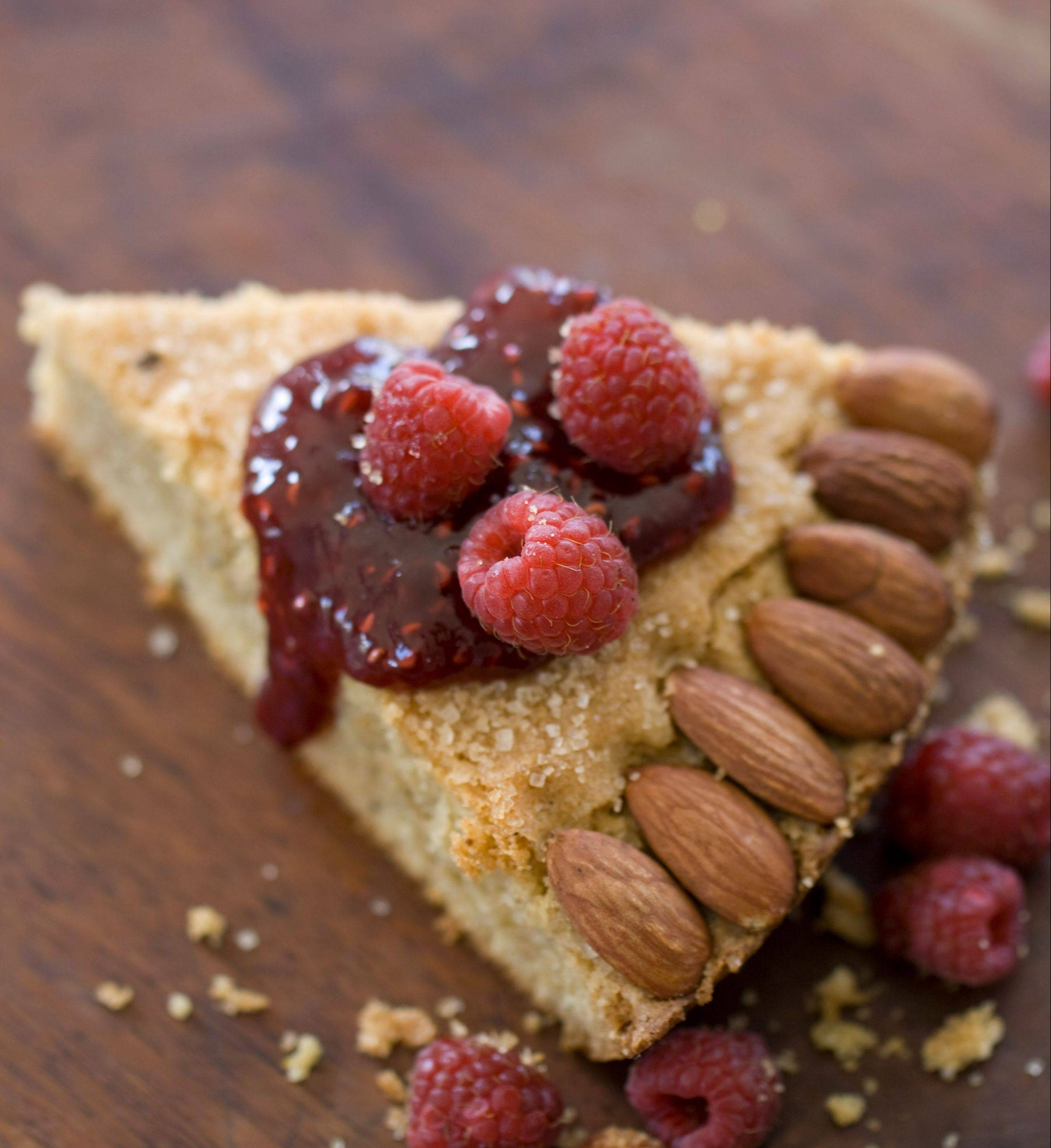 Citrus Spice Almond Butter Torte packs in the flavors of fall.