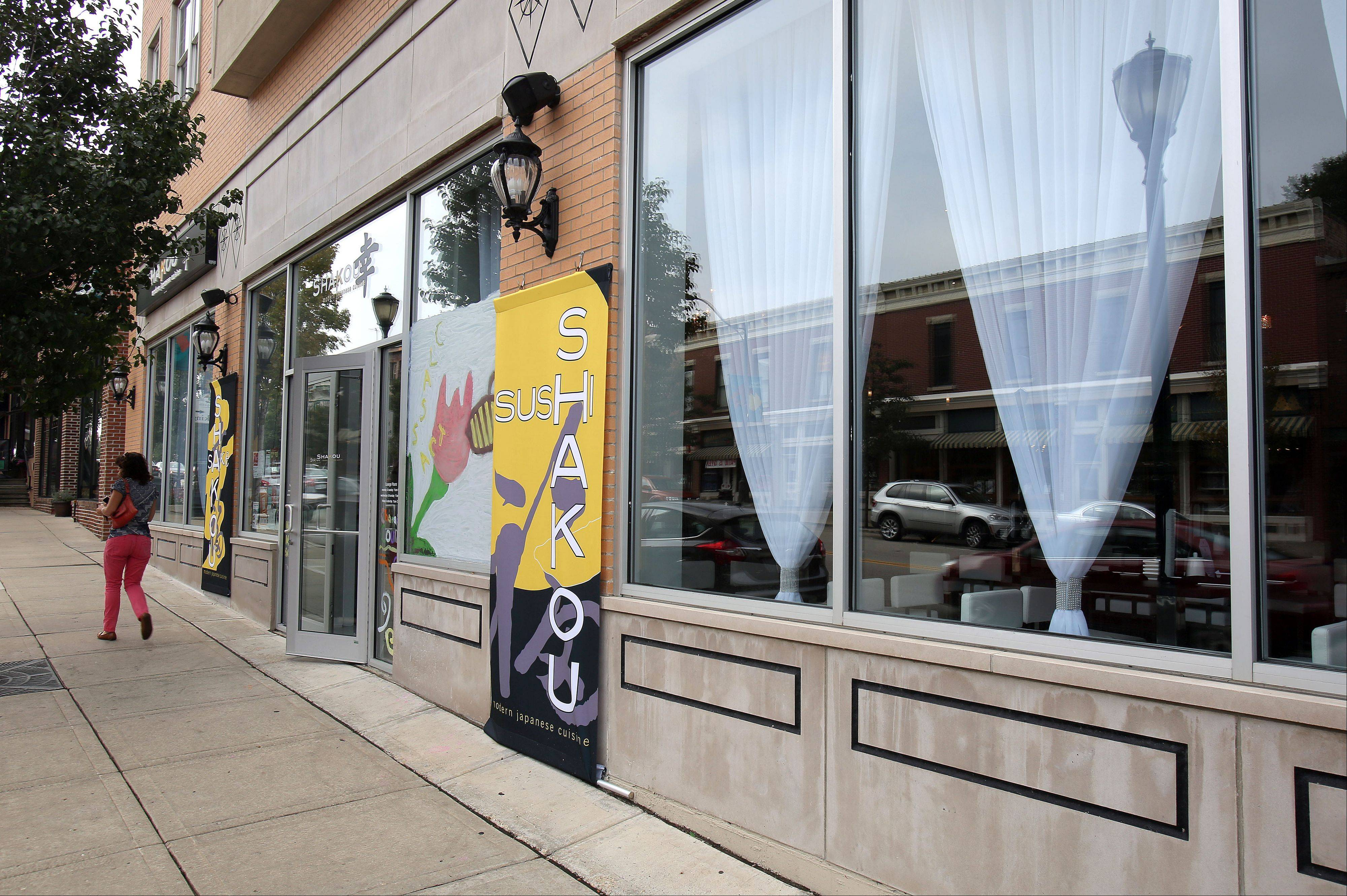 Shakou holds a prominent place in downtown Libertyville's restaurant row.