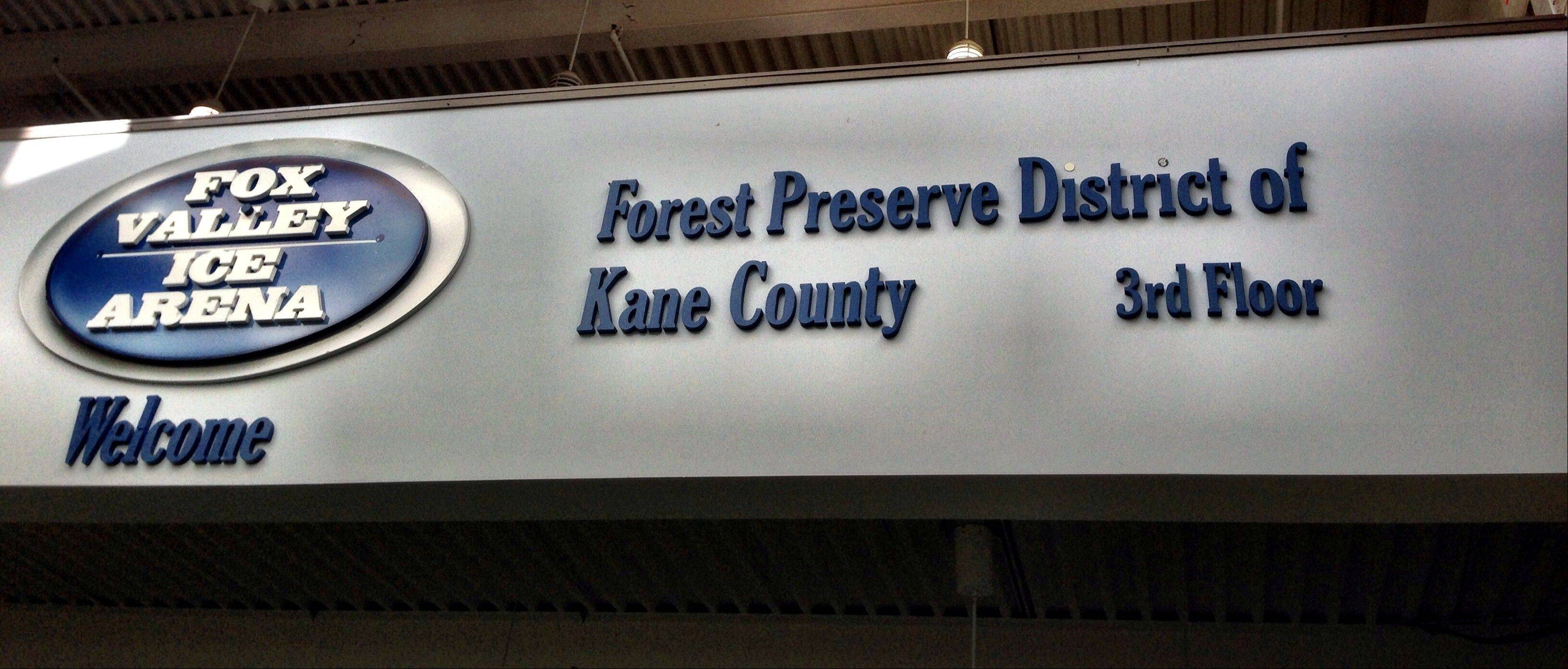 Kane County's budget for 2014 includes a deal to give the Kane County Forest Preserve District about $150,000 from riverboat gambling proceeds to keep the district from raising its property tax levy.