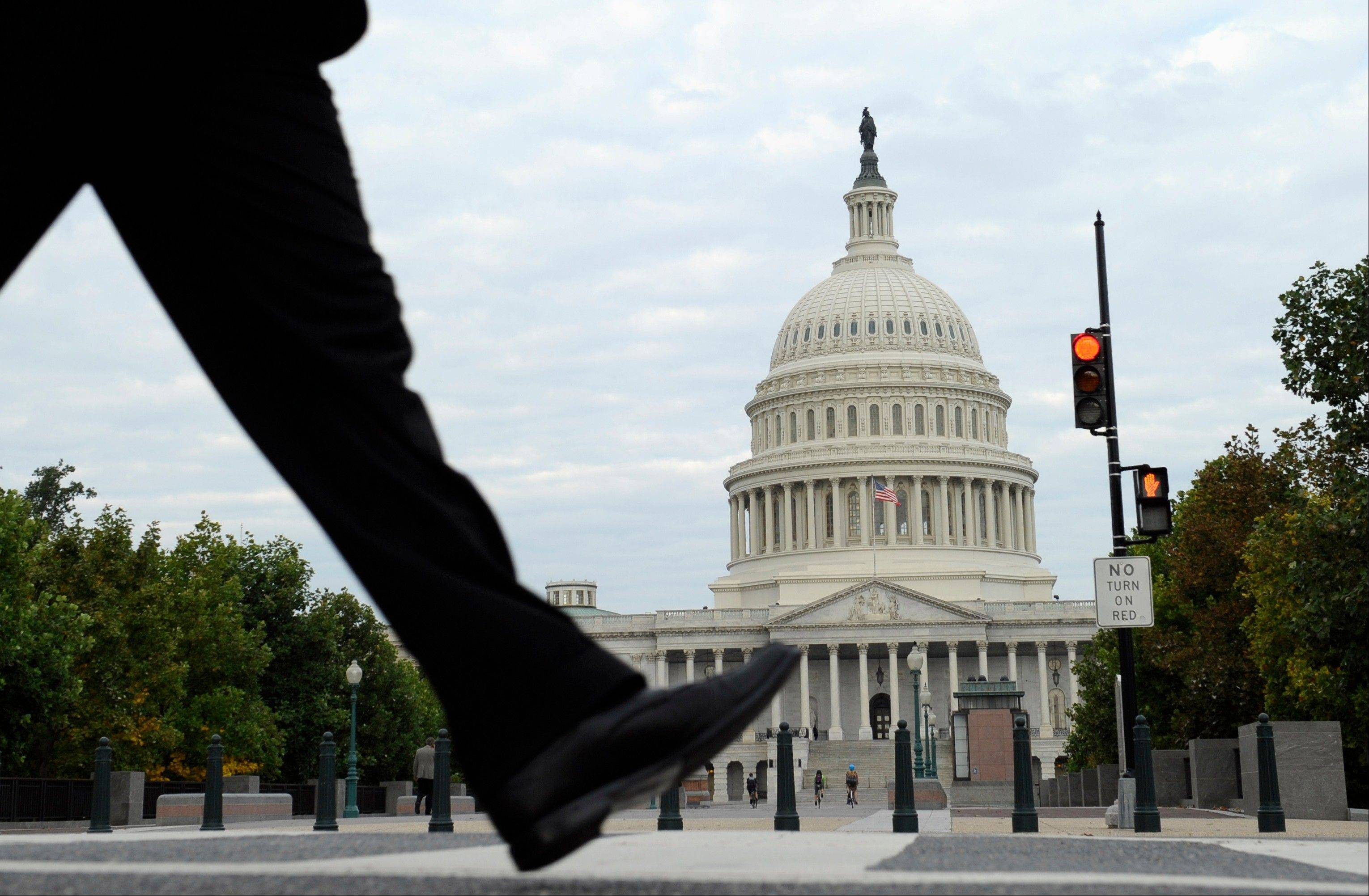 The roiling debate over a government shutdown has extended to Twitter, Facebook and Instagram, with tens of thousands of fed-up Americans registering their disgust with federal lawmakers for shutting down the government.