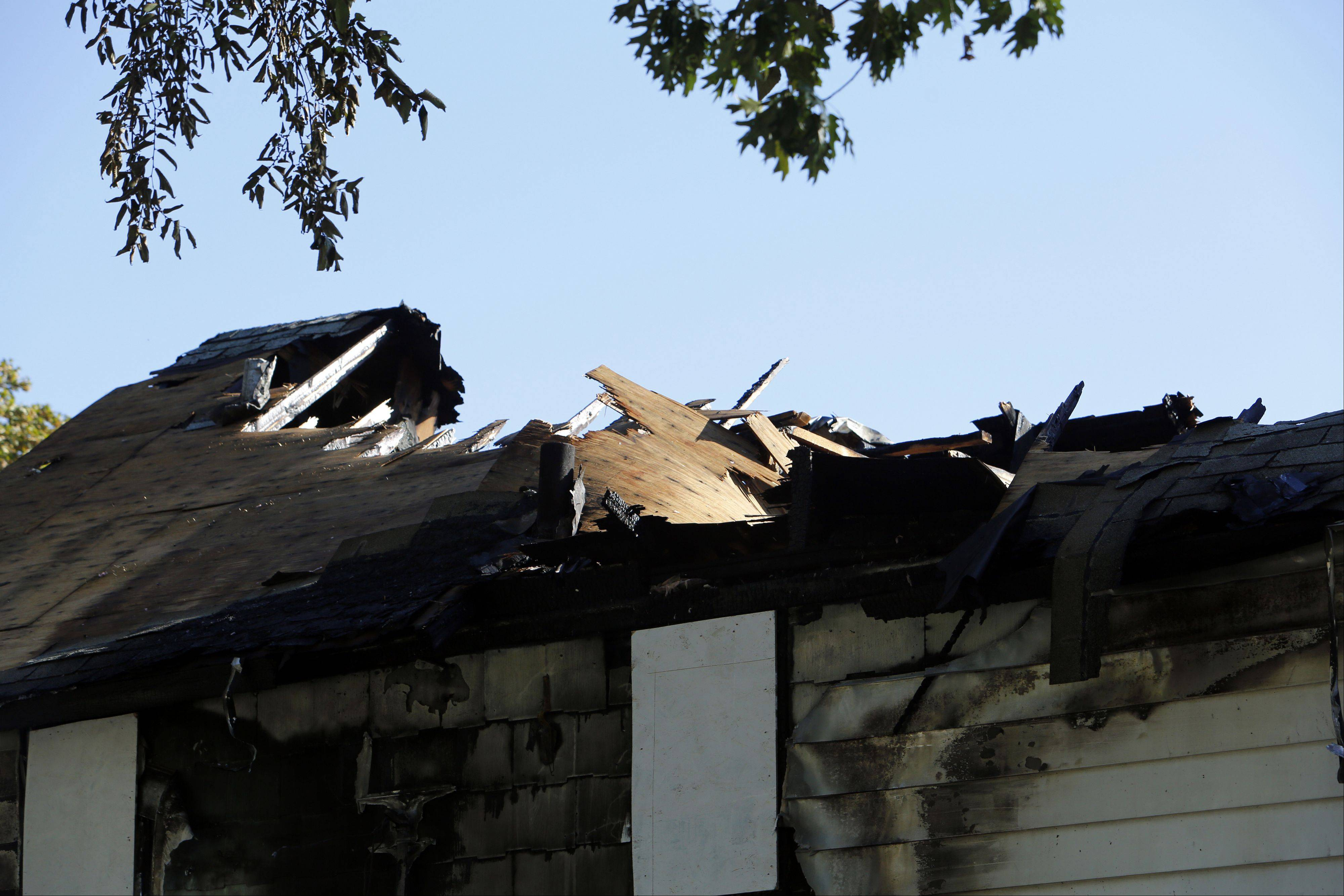 More than $170,000 damage resulted in Tuesday night's house fire on May Street in Elgin.