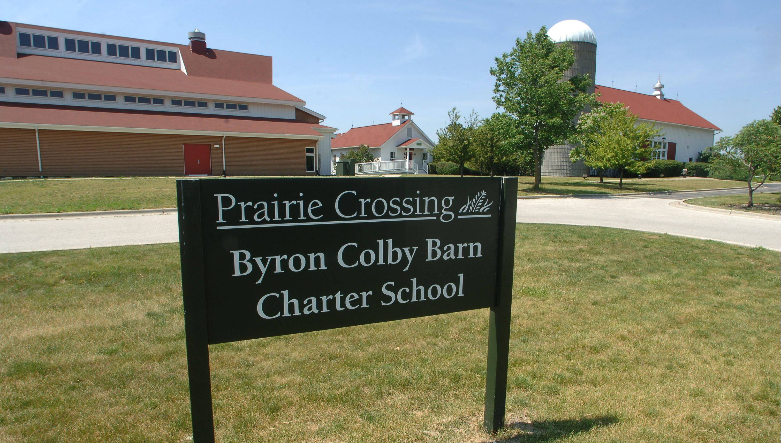 Prairie Crossing Charter School in Grayslake, near Byron Colby Barn, is a national Blue Ribbon Award of Excellence winner this year.