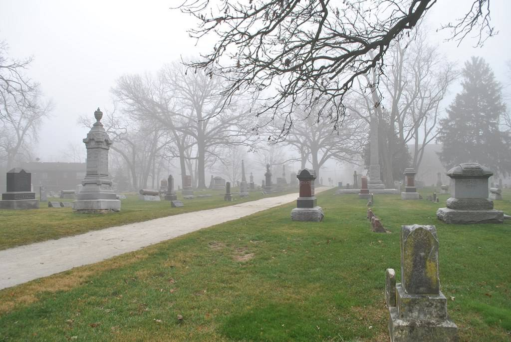 Historic Oakwood Cemetery will be the setting of the 24th Annual Tales Tombstones Tell event on Friday, October 11, 2013. Photo courtesy of West Chicago resident Phil Weibler.