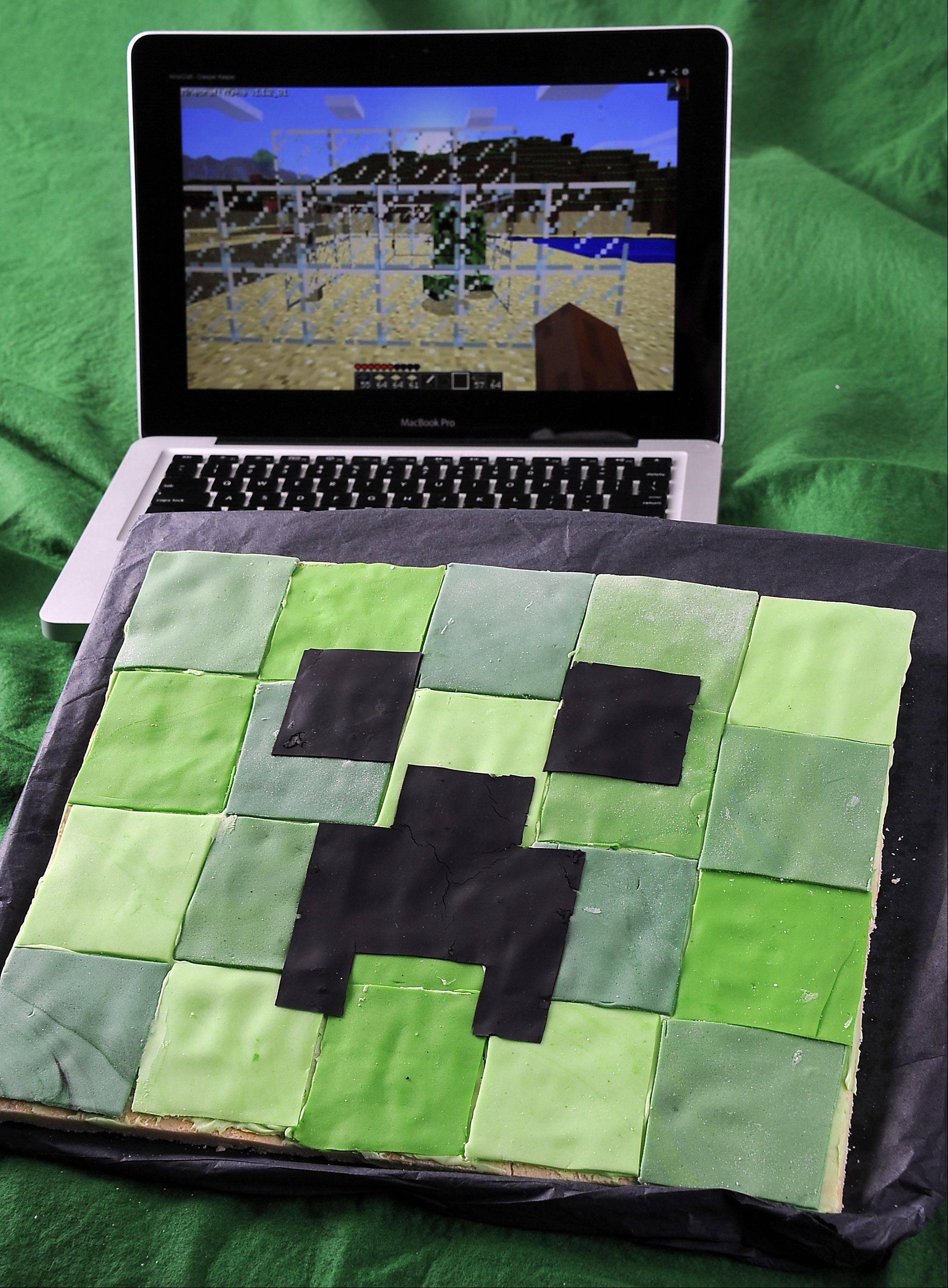 Move over Mom: 'Minecraft' Creeper Cookie explodes with flavor