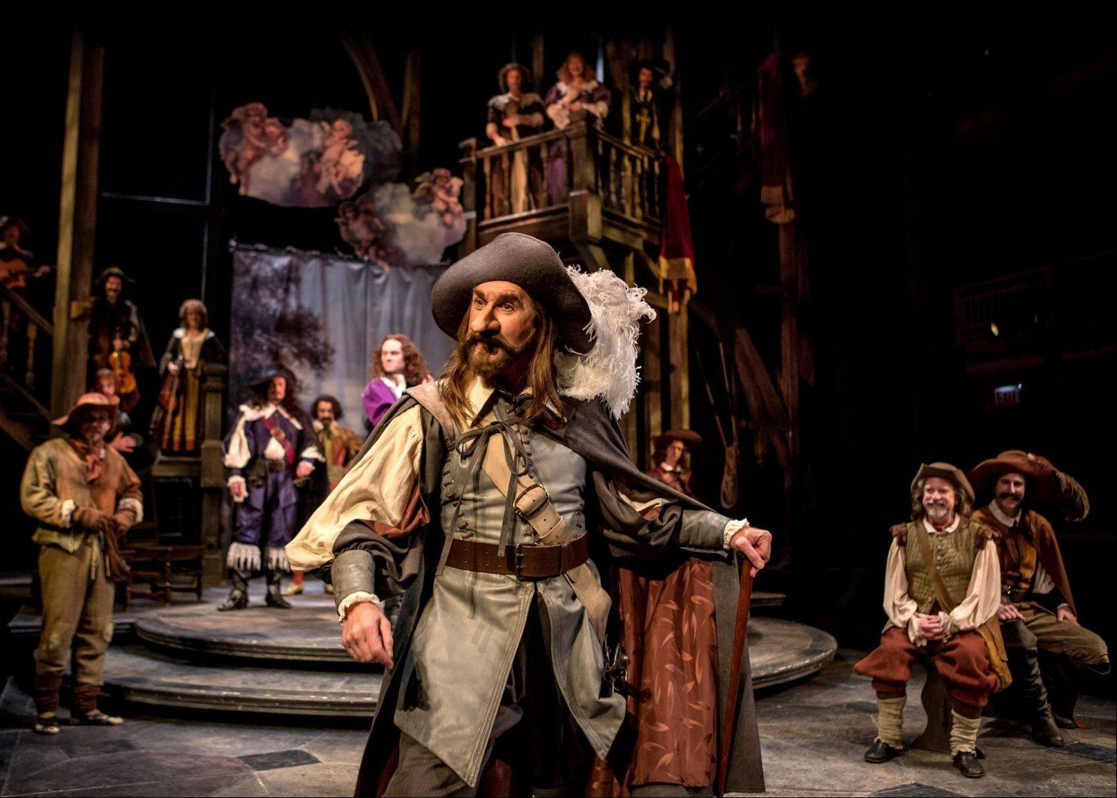 "Harry Groener reunites with his ""The Madness of George III"" director Penny Metropulos for Chicago Shakespeare Theater's production of Edmond Rostand's romance ""Cyrano de Bergerac."""
