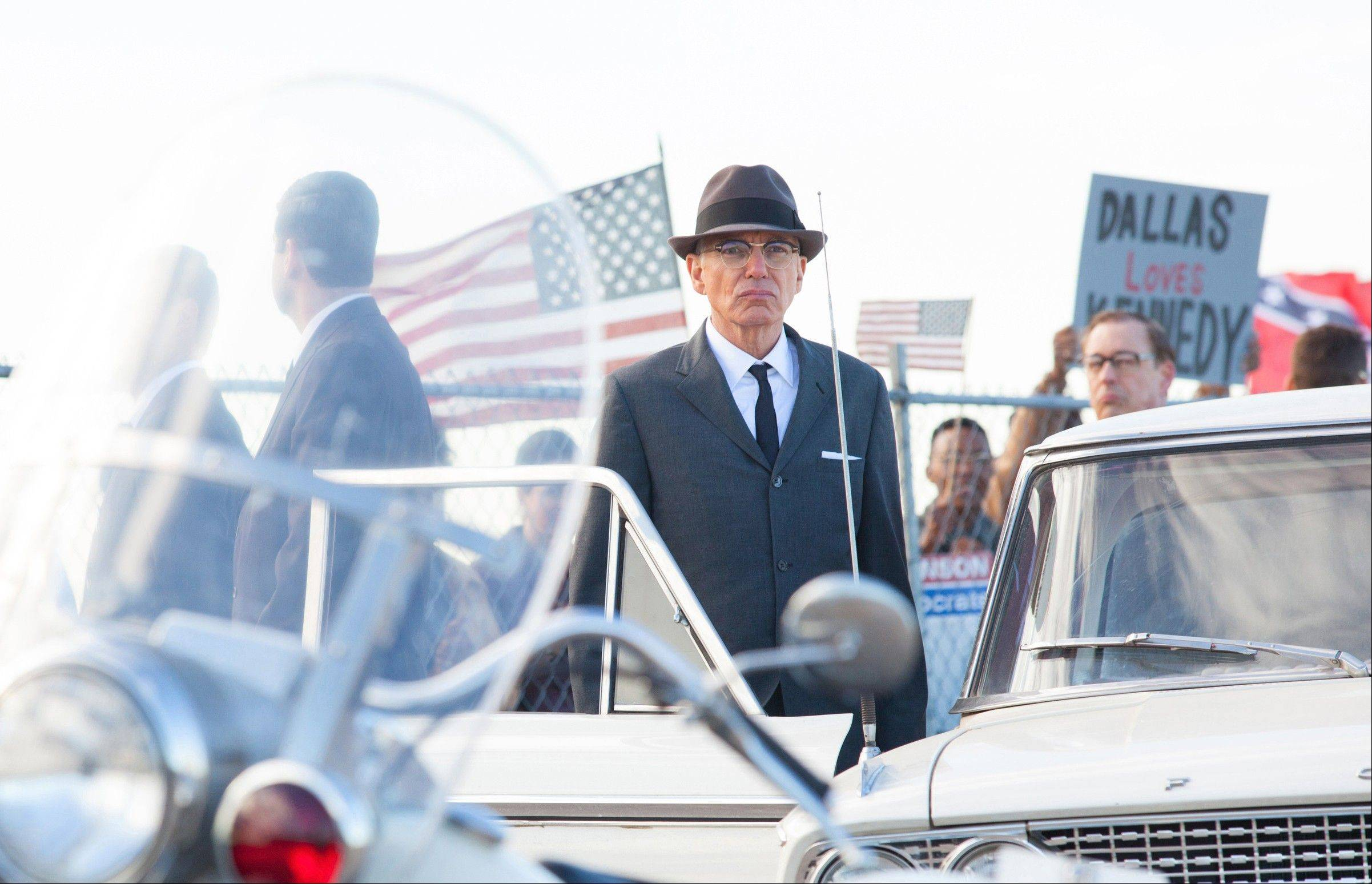"Forrest Sorrels (Billy Bob Thornton) is one of many Secret Service agents, doctors, nurses, relatives and onlookers caught up in the aftermath of JFK's assassination in the drama ""Parkland."""