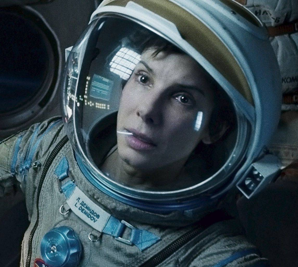"Sandra Bullock plays Dr. Ryan Stone from Lake Zurich in the special-effects-stuffed survival thriller ""Gravity."""