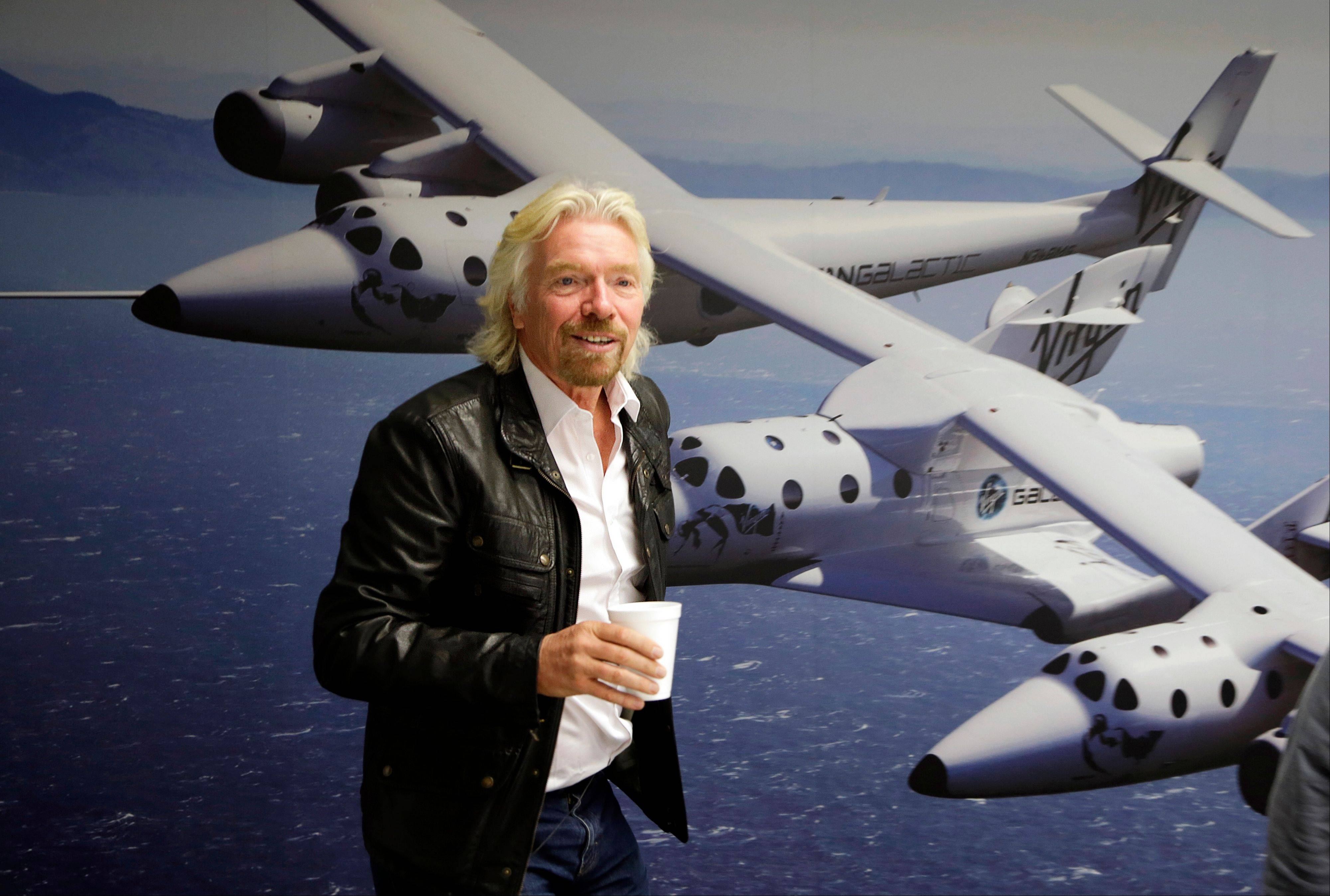 NBC says it will air a competition show with an out-of-this-world prize: a ride into space. The network said Thursday that TV producer Mark Burnett is teaming with Richard Branson�s Virgin Galactic on �Space Race,� a game where the winner will get a ride on Virgin�s aircraft atop the Earth�s atmosphere.