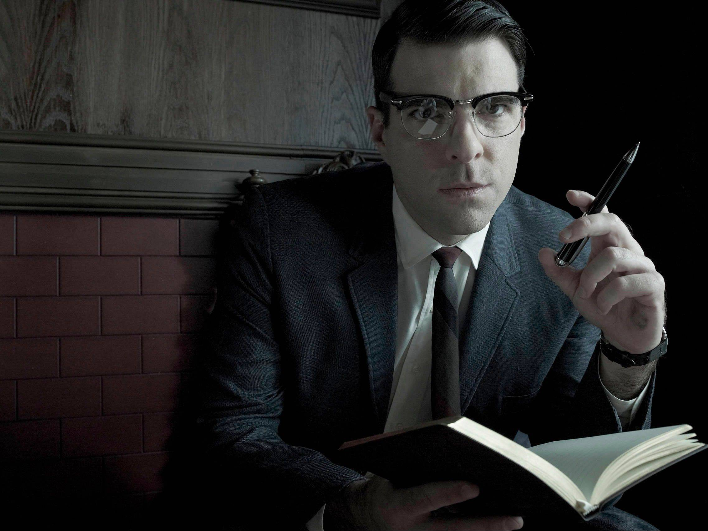 "Zachary Quinto played a doctor with a horrible secret on last year's ""American Horror Story: Asylum."" The series comes to DVD and Blu-ray on Oct. 8."