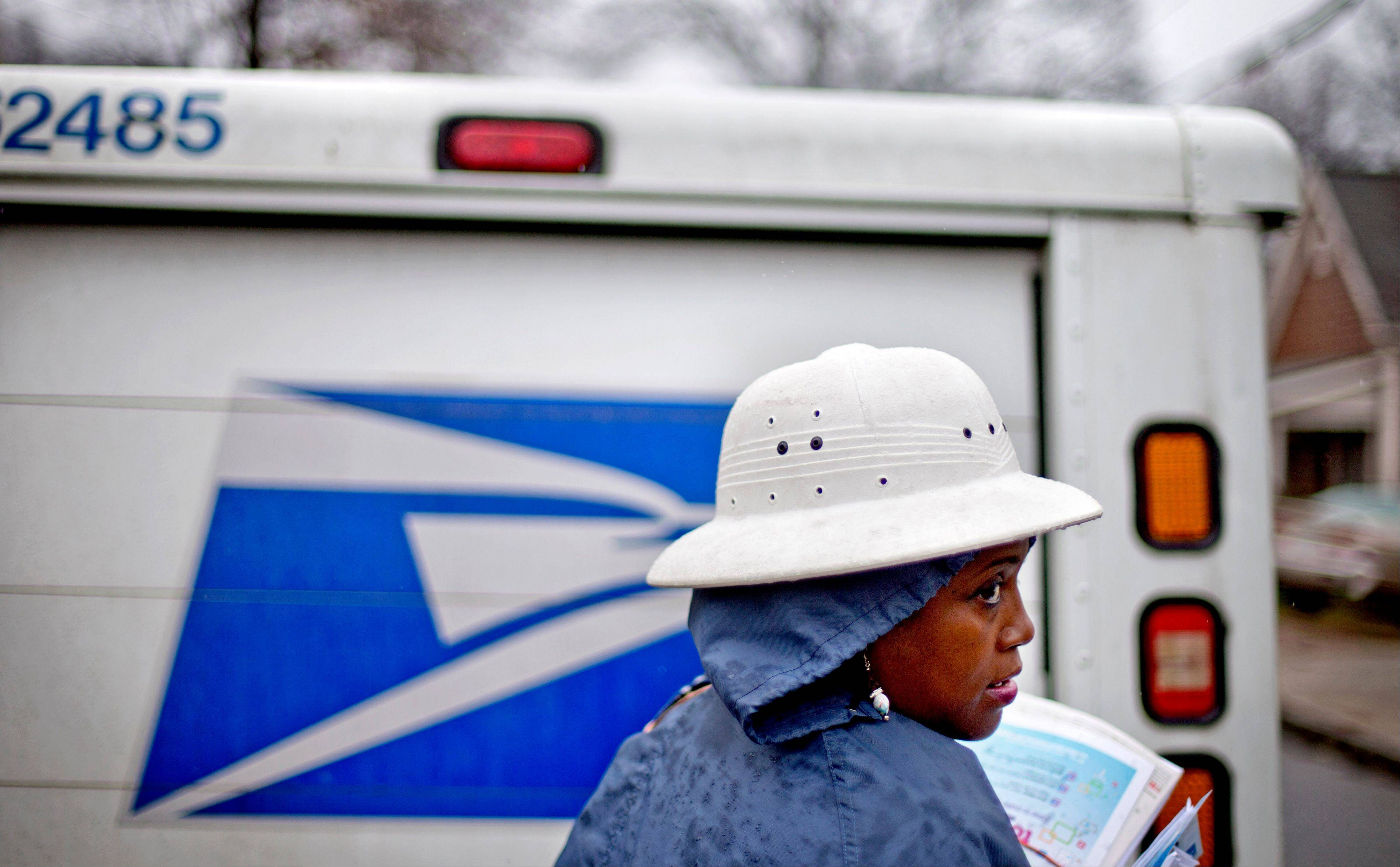 As many high-profile agencies sit idle because of the federal government shutdown, others like the U.S. Postal Service are humming along just fine.