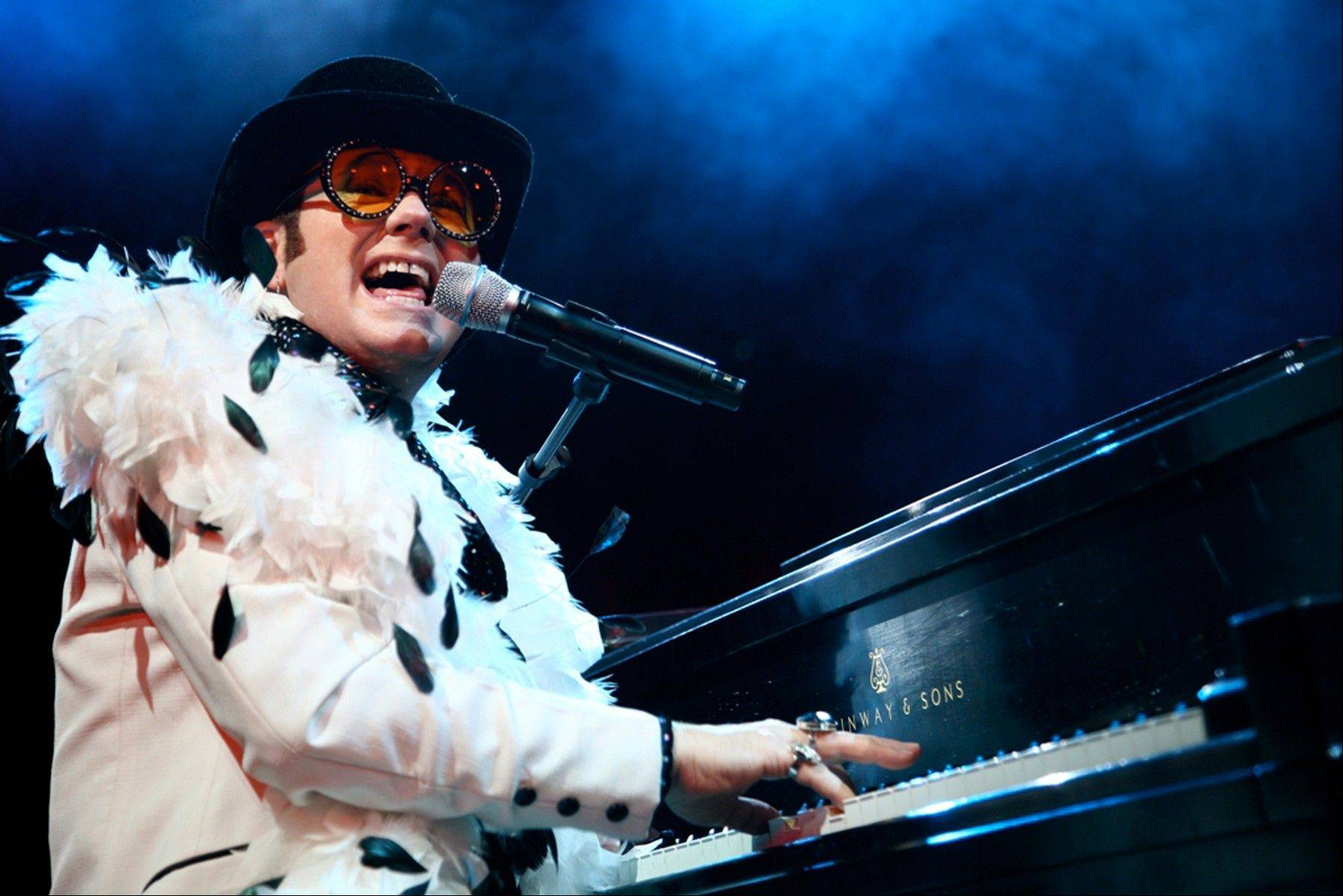 """Remember When Rock Was Young"" features Almost Elton John and the Rocket Band starring Craig A. Meyer at College of Lake County's Lumber Center for the Performing Arts on Sunday, Oct. 13."