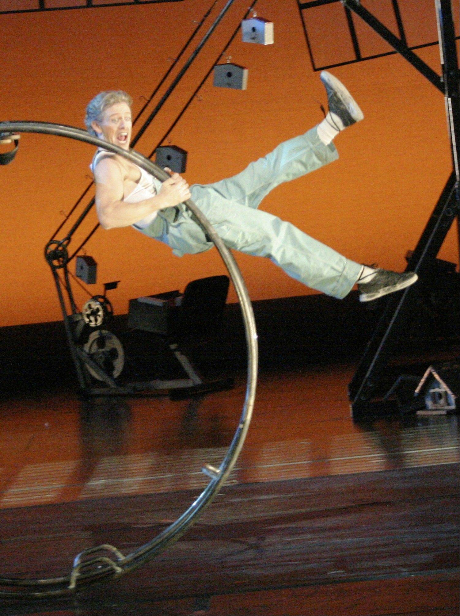 "Cirque Mechanics' ""Birdhouse Factory"" takes the stage at 7:30 p.m. Wednesday, Oct. 30, at College of Lake County's Lumber Center for the Performing Arts in Grayslake."