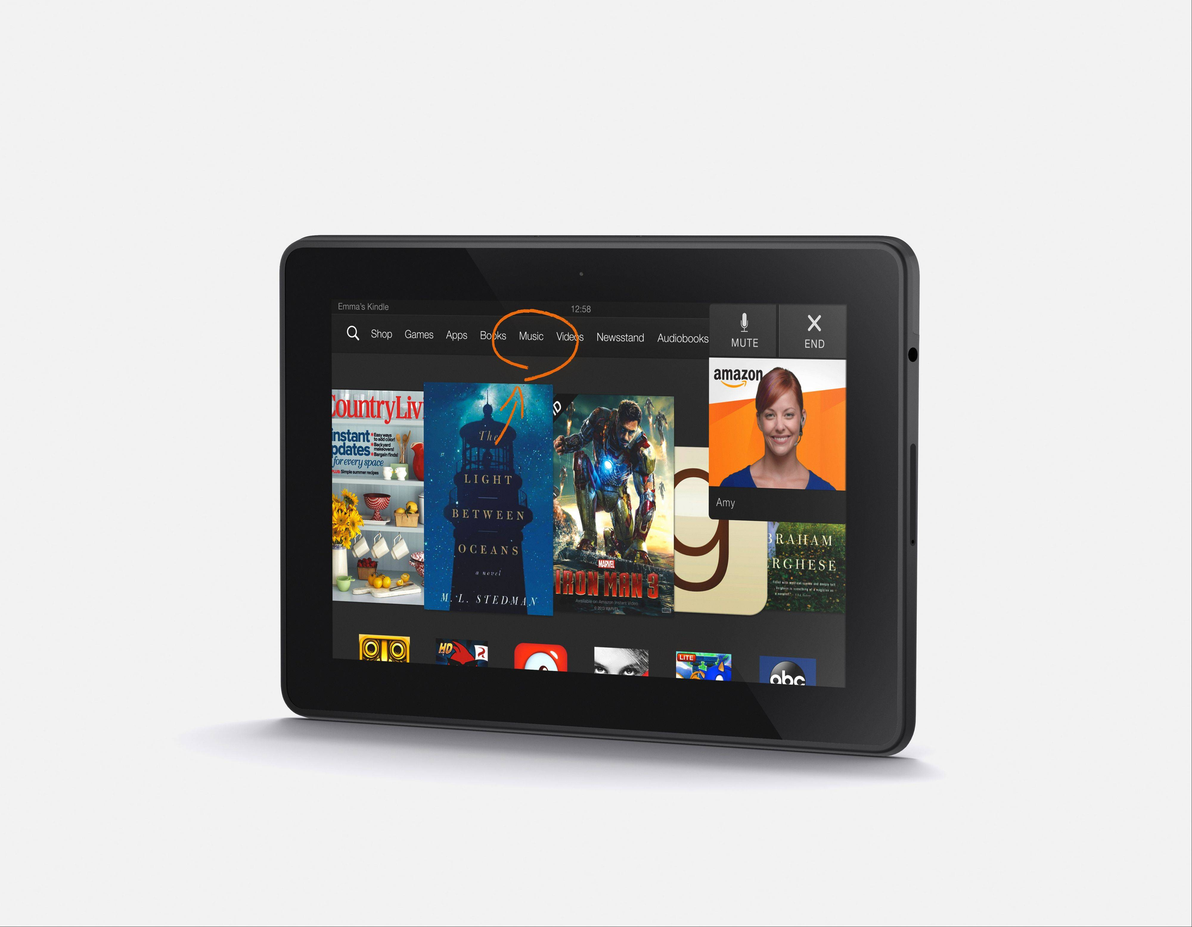 Amazon is the latest company to unveil new tablets, including a new 7 inch Kindle Fire HDX.