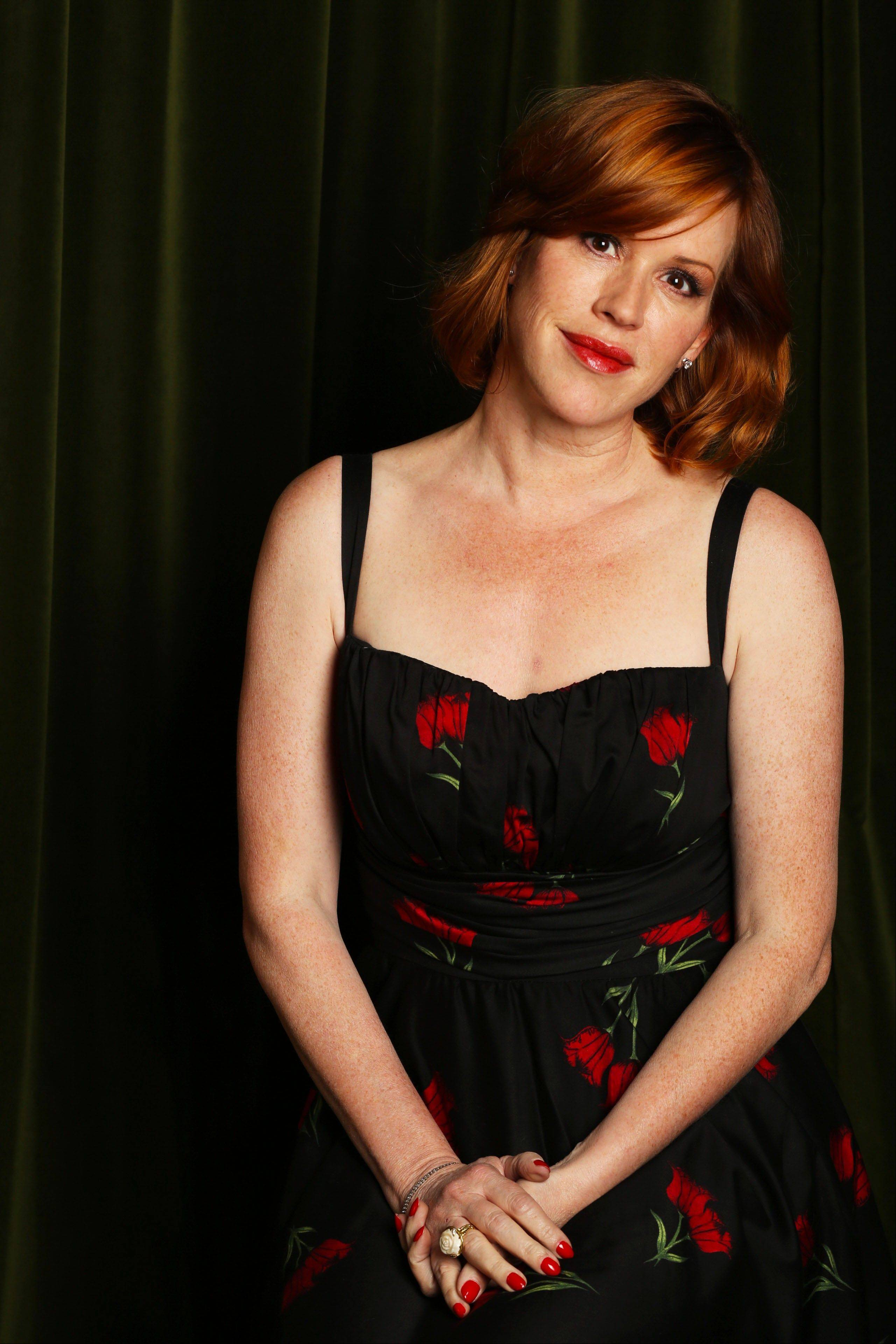 Actress-singer Molly Ringwald performs cabaret standards at the Arcada Theatre in St. Charles on Saturday, Oct. 5.
