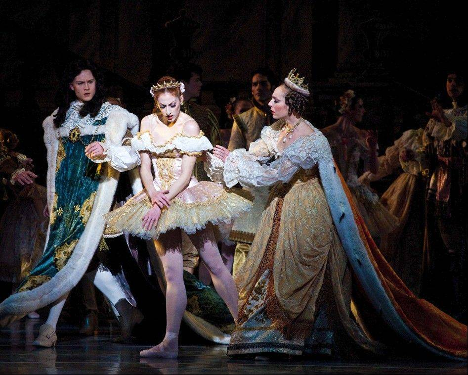 "Salt Lake City-based Ballet West brings its production of the Tchaikovsky ballet ""The Sleeping Beauty"" to the Auditorium Theatre of Roosevelt University in Chicago Friday and Saturday, Oct. 4-5."
