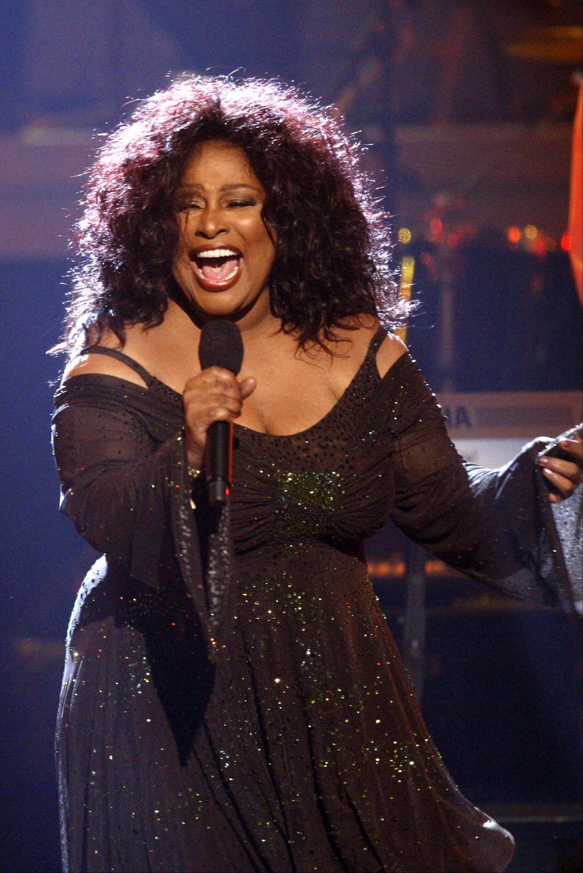 R&B star Chaka Khan will performer during the V103 25th Anniversary concert at the Allstate Arena in Rosemont on Saturday, Oct. 5.