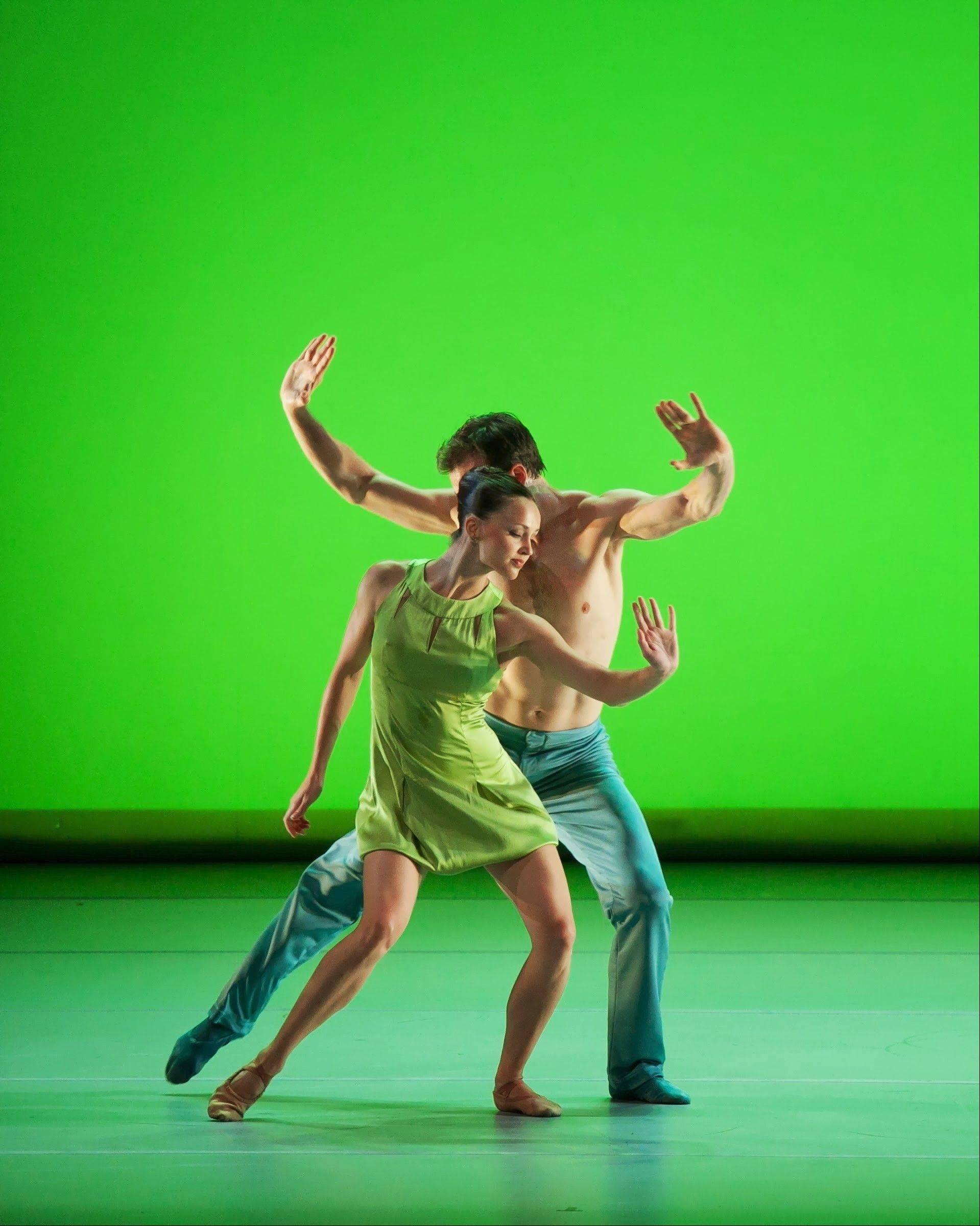 "Aspen Santa Fe Ballet is set to perform Finnish choreographer Jorma Elo's ""Over Glow"" at Millennium Park's Harris Theater for Music and Dance in Chicago on Saturday, Oct. 5."