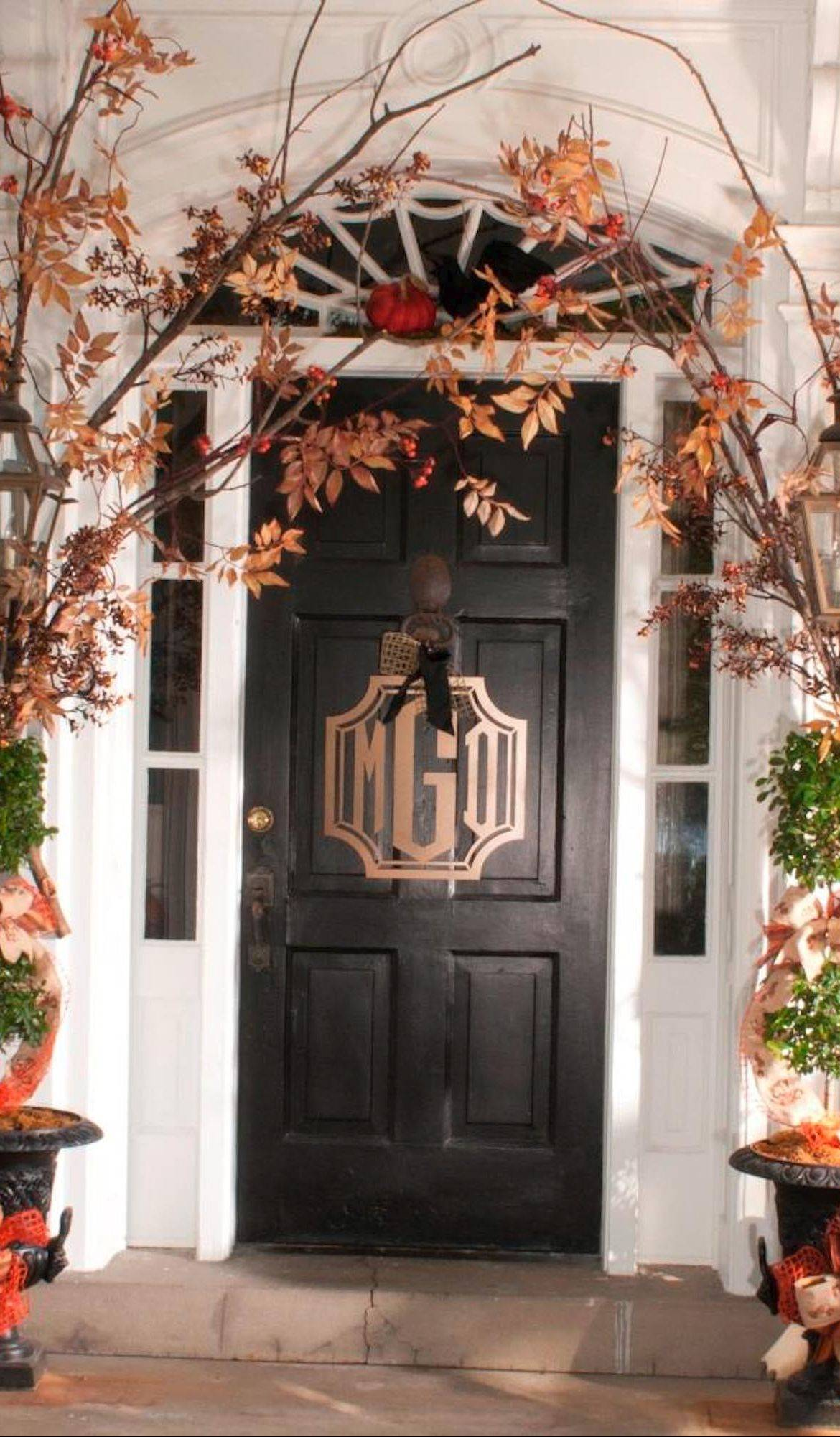 The front of your house is the first thing people see when they visit, so make it welcoming with a few personal touches.