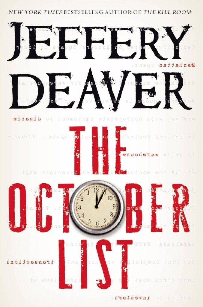 """The October List"" by Jeffery Deaver"