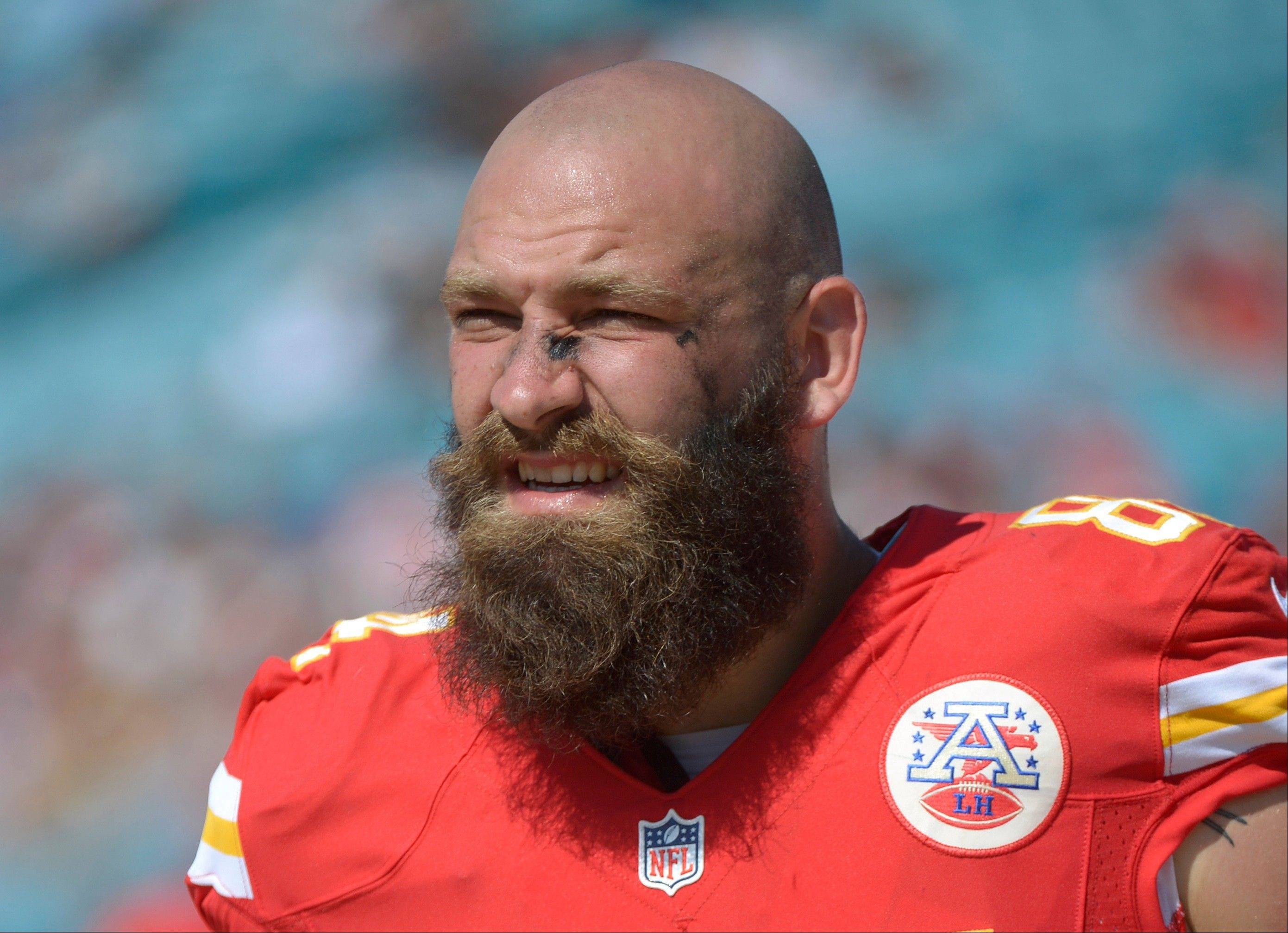 Injuries to two tight ends led the Kansas City Chiefs to pick up Sean McGrath of Mundelein. McGrath is quickly becoming a cult icon for his gnarly whiskers, and a hero to Chiefs fans for the way he�s filled in for banged-up starters Anthony Fasano and Travis Kelce.