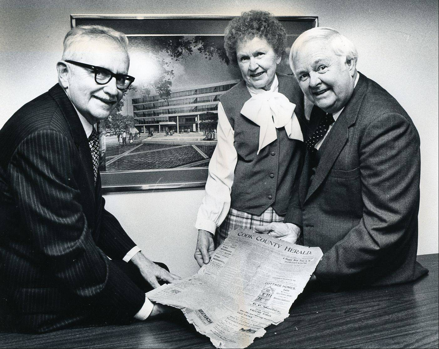 Stuart Paddock Jr. took over the Daily Herald in the 1960s with his brother, Robert, and sister, Margie Paddock Flanders.