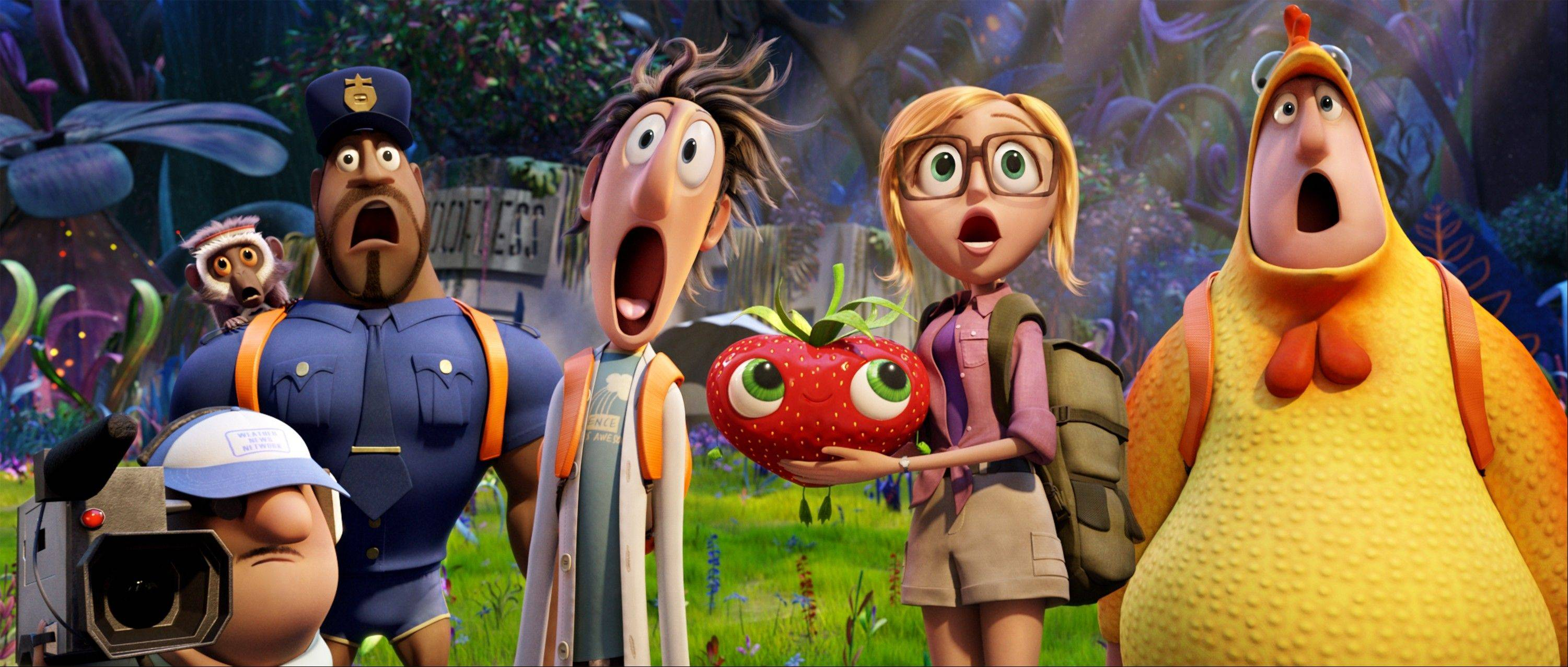 "The family friendly sequel ""Cloudy With a Chance of Meatballs 2"" held on to the No. 2 spot at the box office with $21.5 million."