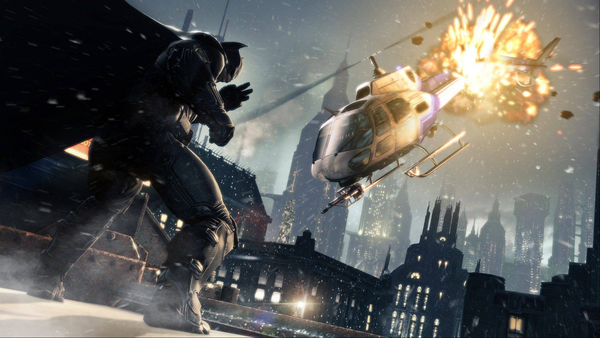 """Batman: Arkham Origins,"" releasing worldwide on Oct. 25, is set several years before 2009's ""Arkham Asylum"" and its 2011 sequel ""Arkham City."""