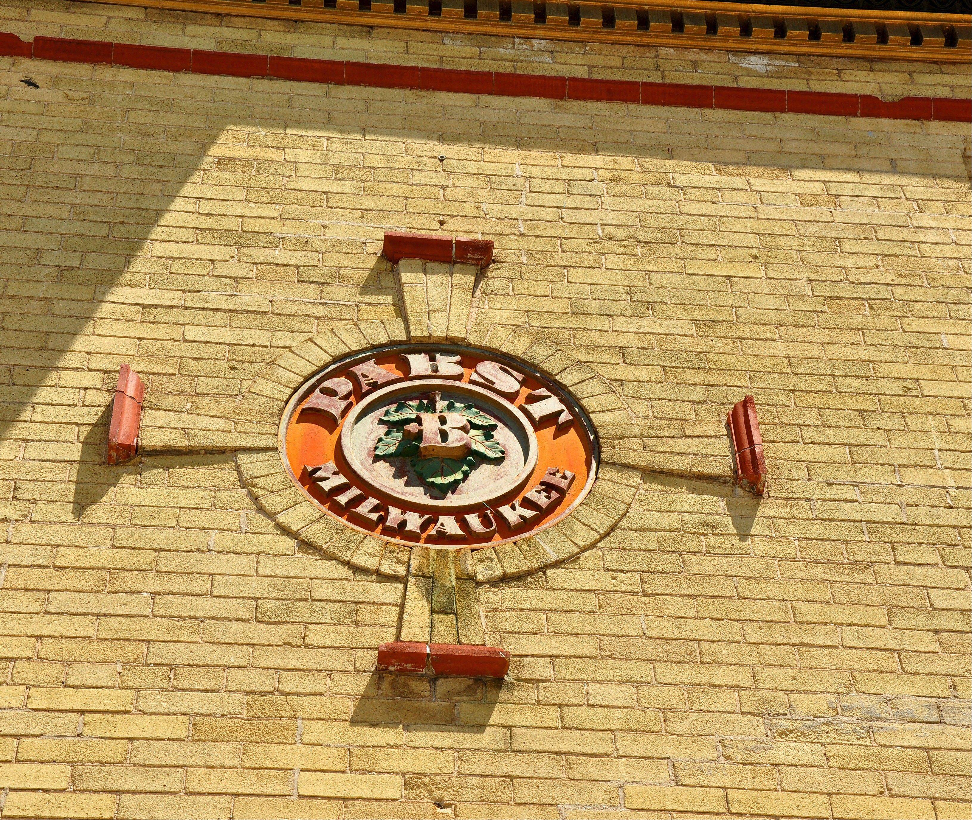 The Pabst Brewery put its emblem on its tied house taverns, including what is now The Irish Pub in Milwaukee.