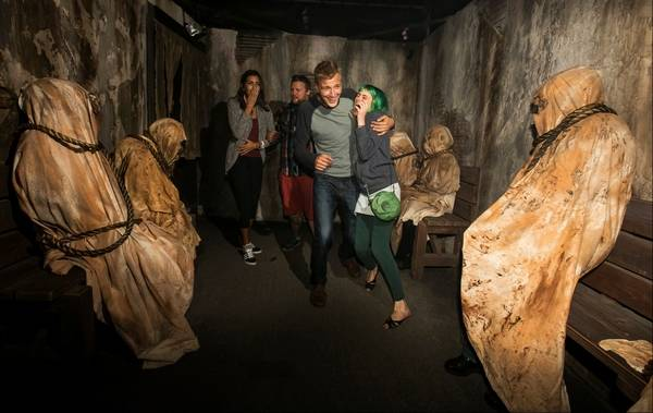 Halloween Attractions Asking Guests To Take Part