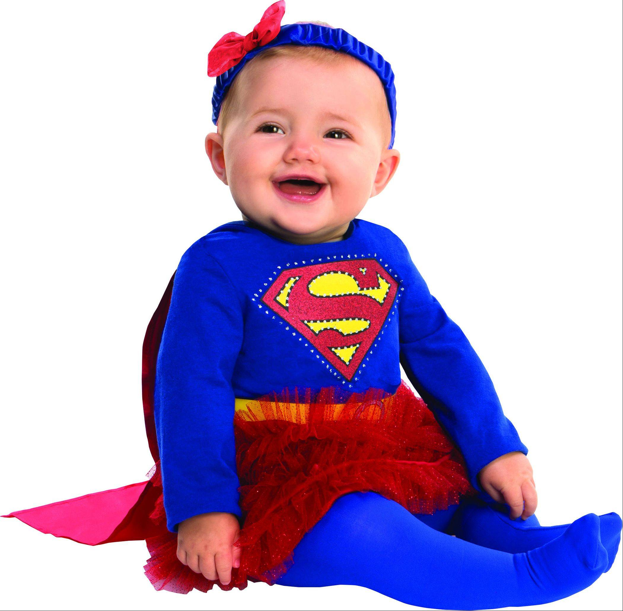 It really doesn't matter how old you are this Halloween, you can't go wrong with a super hero costume.