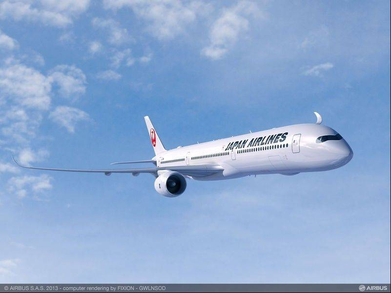 The benchmark Japan Airlines purchase agreement with Airbus is for 13 A350-1000s, along with 18 shorter-fuselage A350-900 jetliners.
