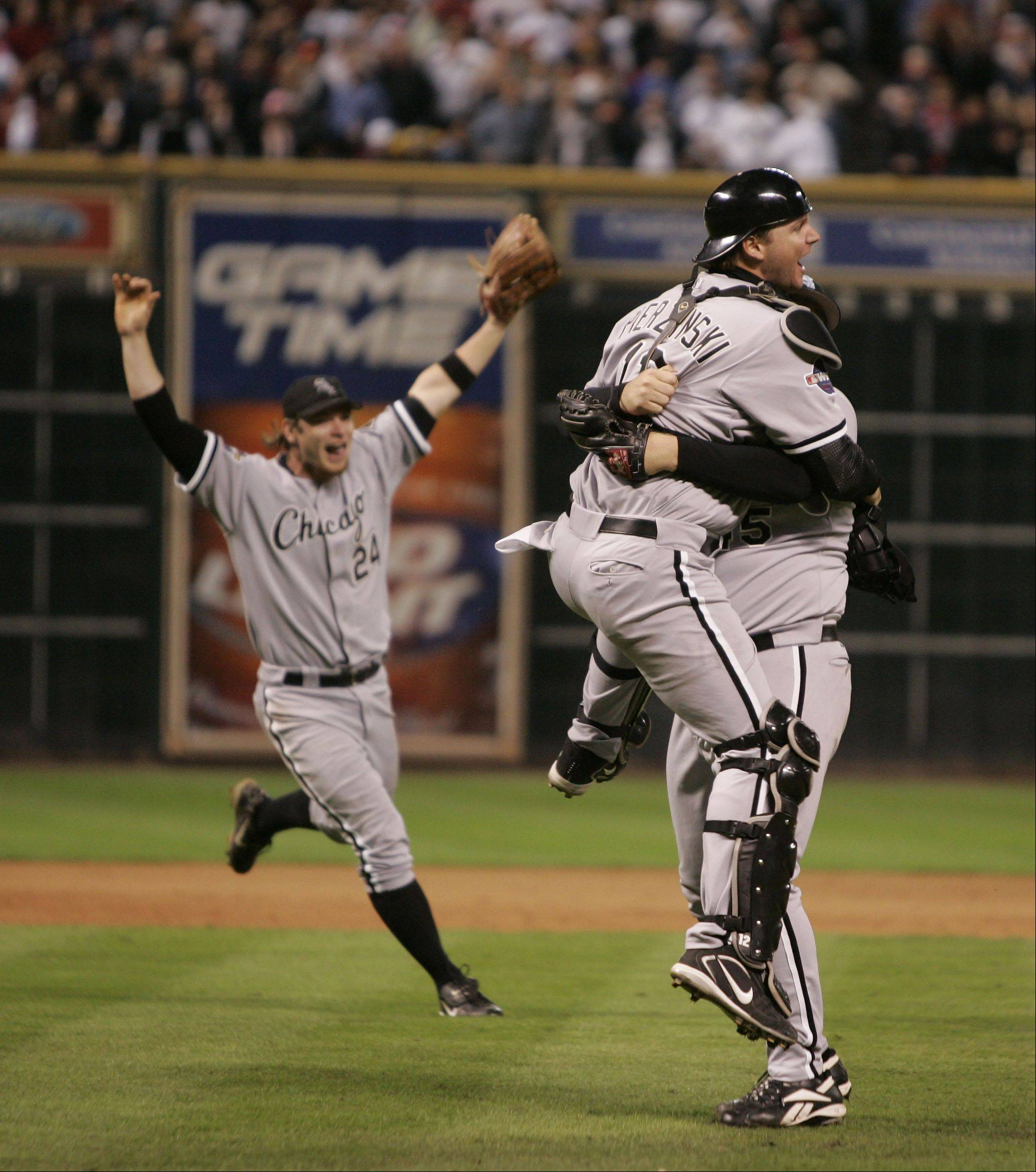 Daily Herald file photo The Chicago White Sox sweep the Houston Astros in the 2005 World Series. It was the first time the Sox won it all in 88 years.