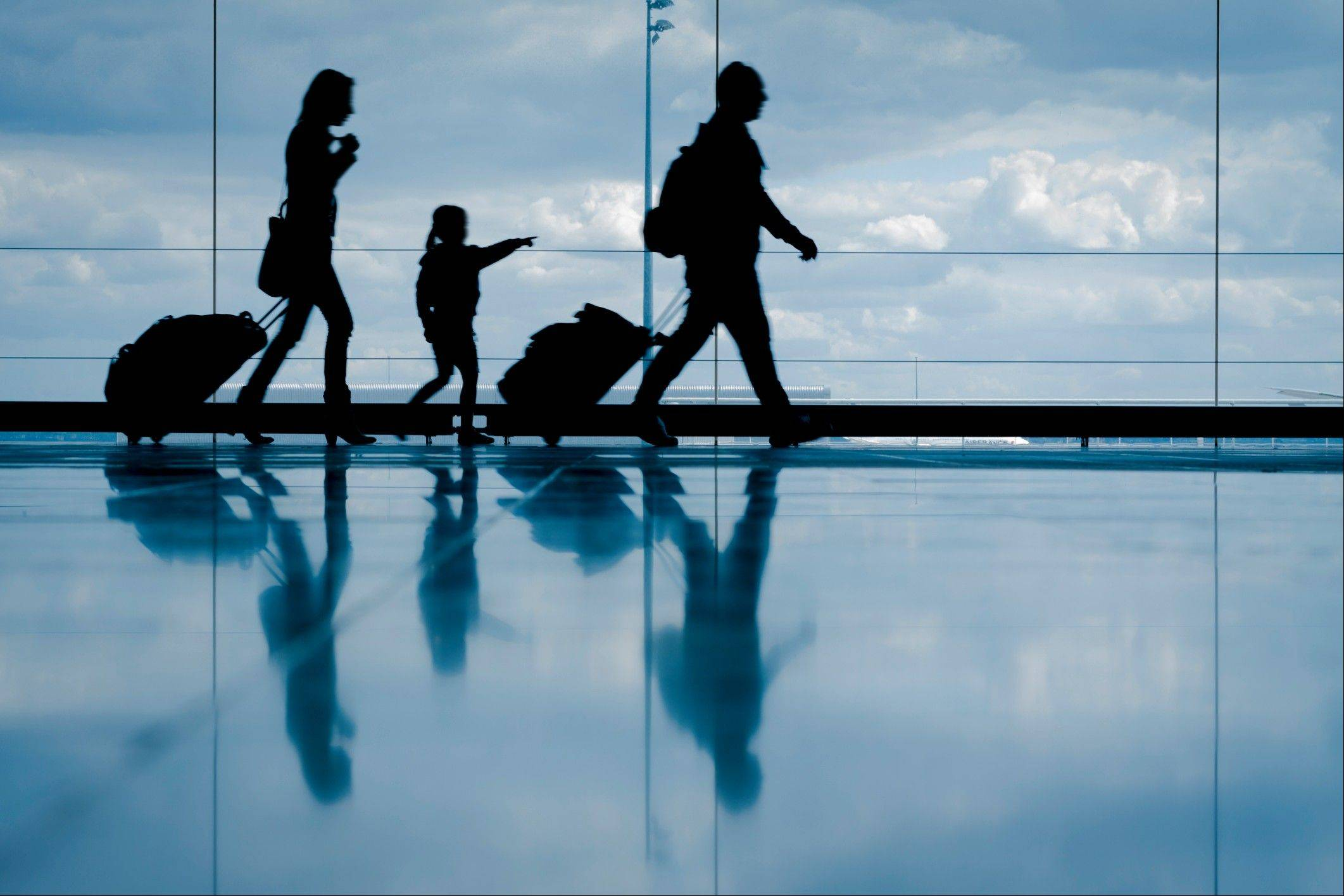 Families can help their kids with autism practice traveling in airports, which can be scary for kids with the disorder.