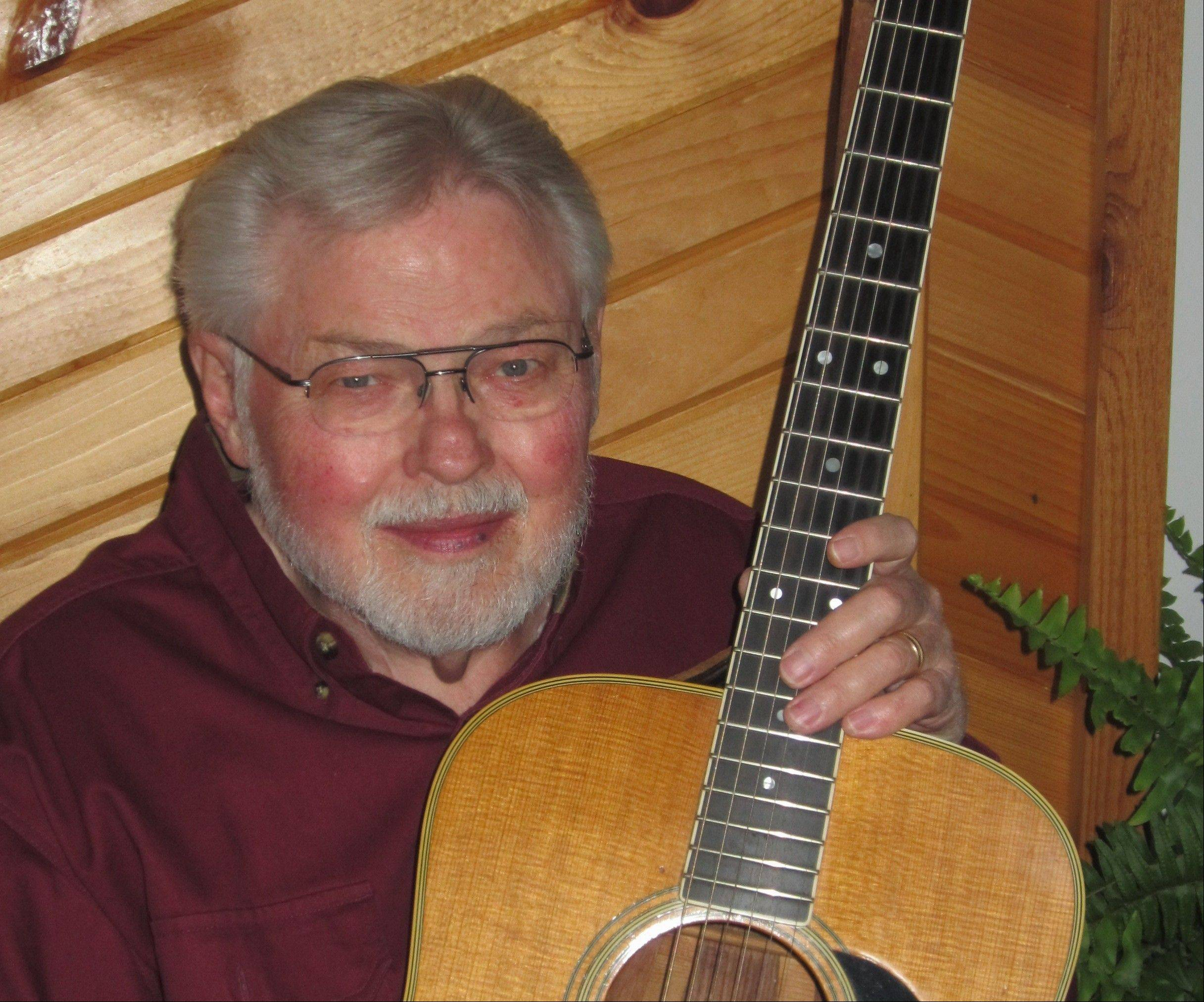 Folk singer Don Skelton will return to the stage Friday, Oct. 11.