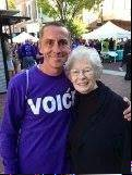 William Glass of Lombard walked more than 750 miles to Atlanta to be with his mother, Eileen, who has Alzheimer's.